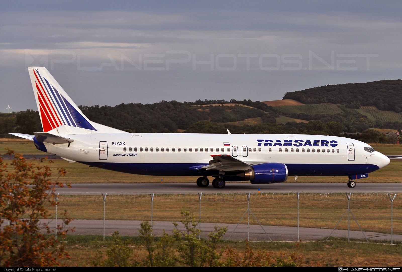 Boeing 737-400 - EI-CXK operated by Transaero Airlines #b737 #boeing #boeing737