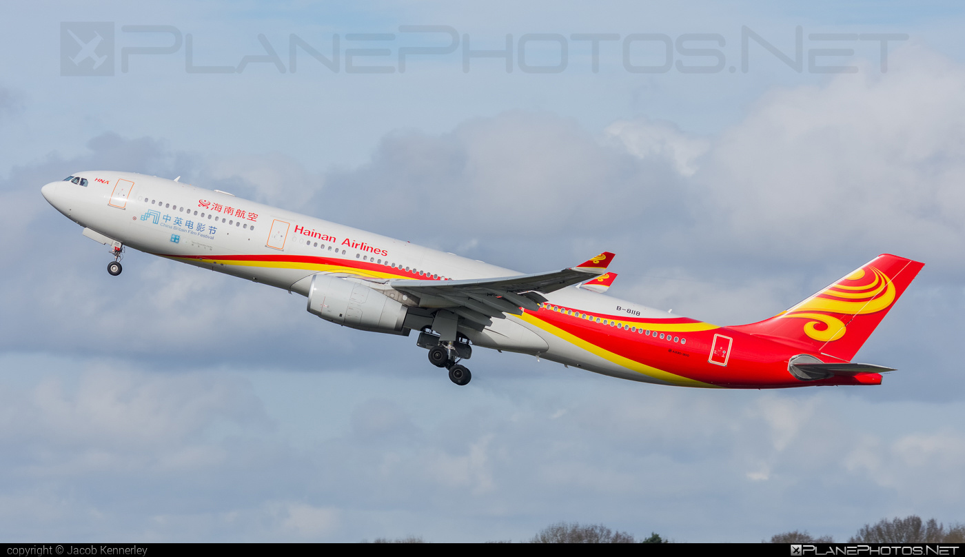 Airbus A330-343E - B-8118 operated by Hainan Airlines #a330 #a330e #a330family #airbus #airbus330