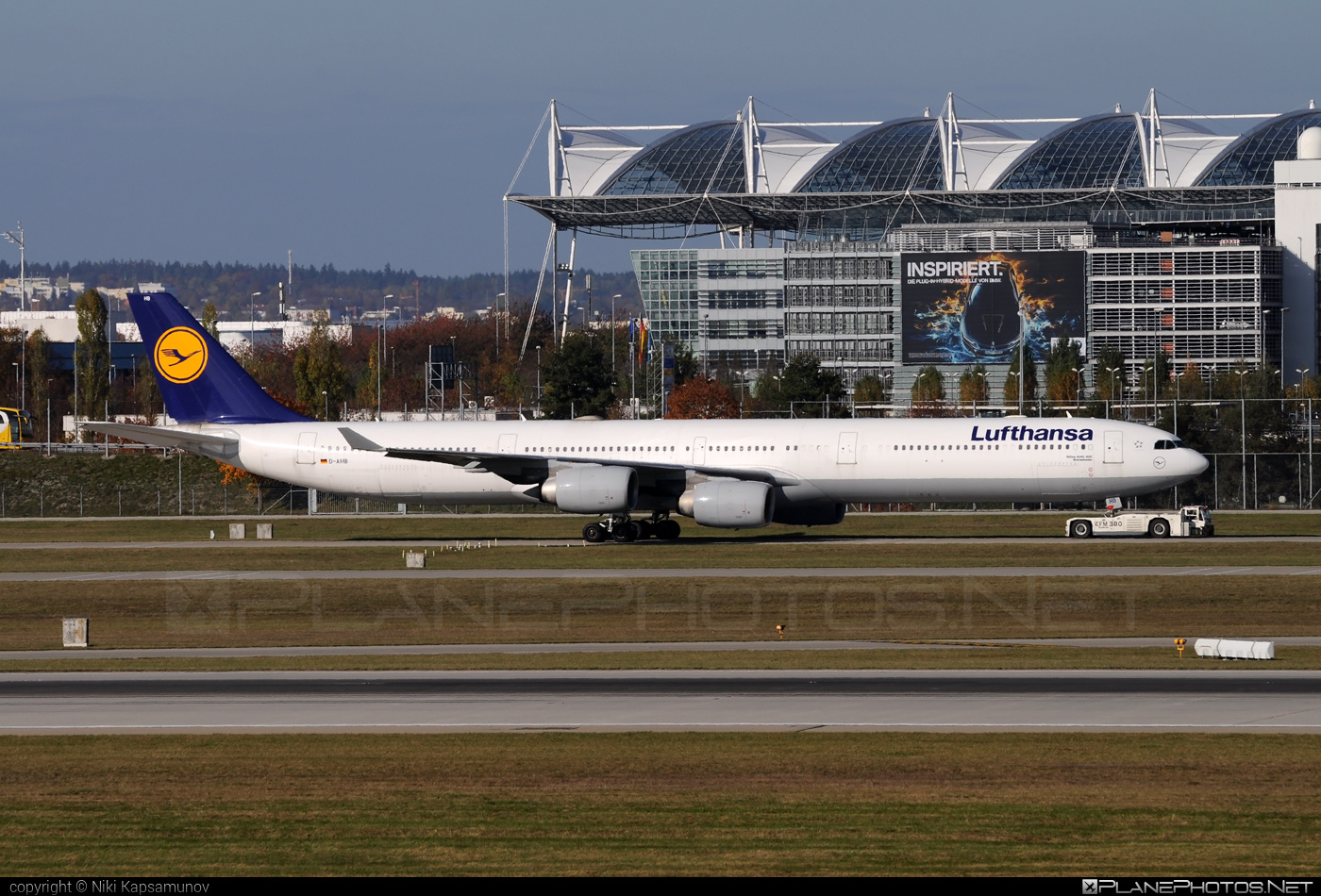 Airbus A340-642 - D-AIHB operated by Lufthansa #a340 #a340family #airbus #airbus340 #lufthansa