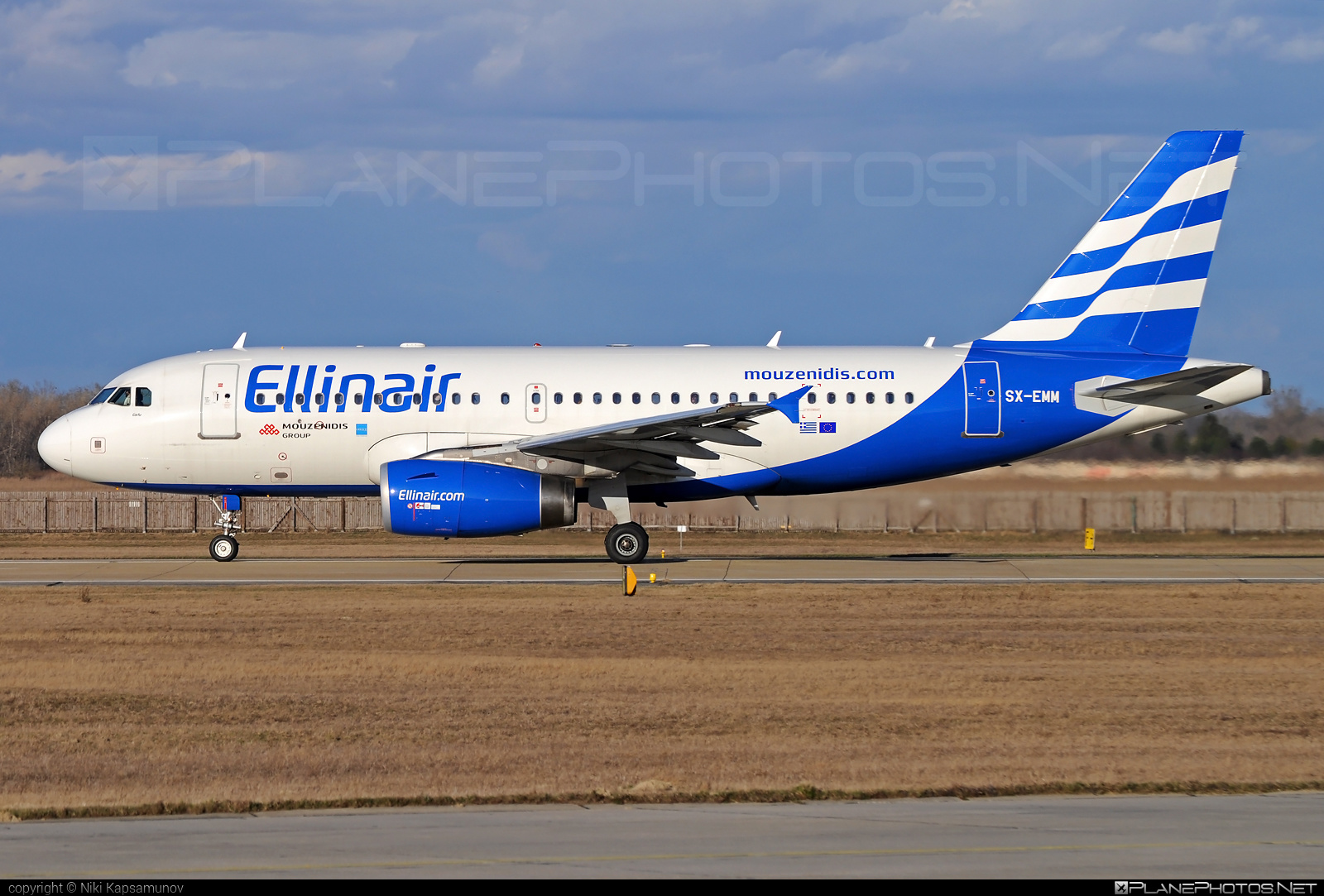 Airbus A319-132 - SX-EMM operated by Ellinair #a319 #a320family #airbus #airbus319