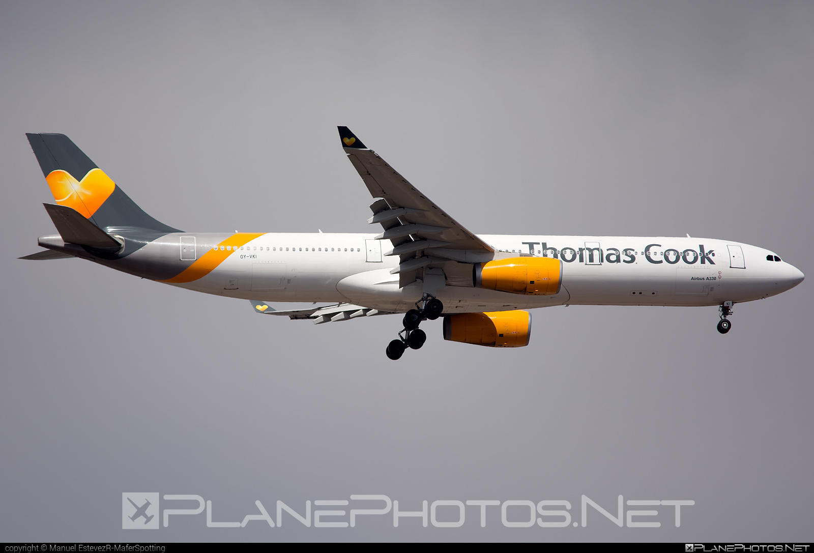 Airbus A330-343 - OY-VKI operated by Thomas Cook Airlines Scandinavia #a330 #a330family #airbus #airbus330