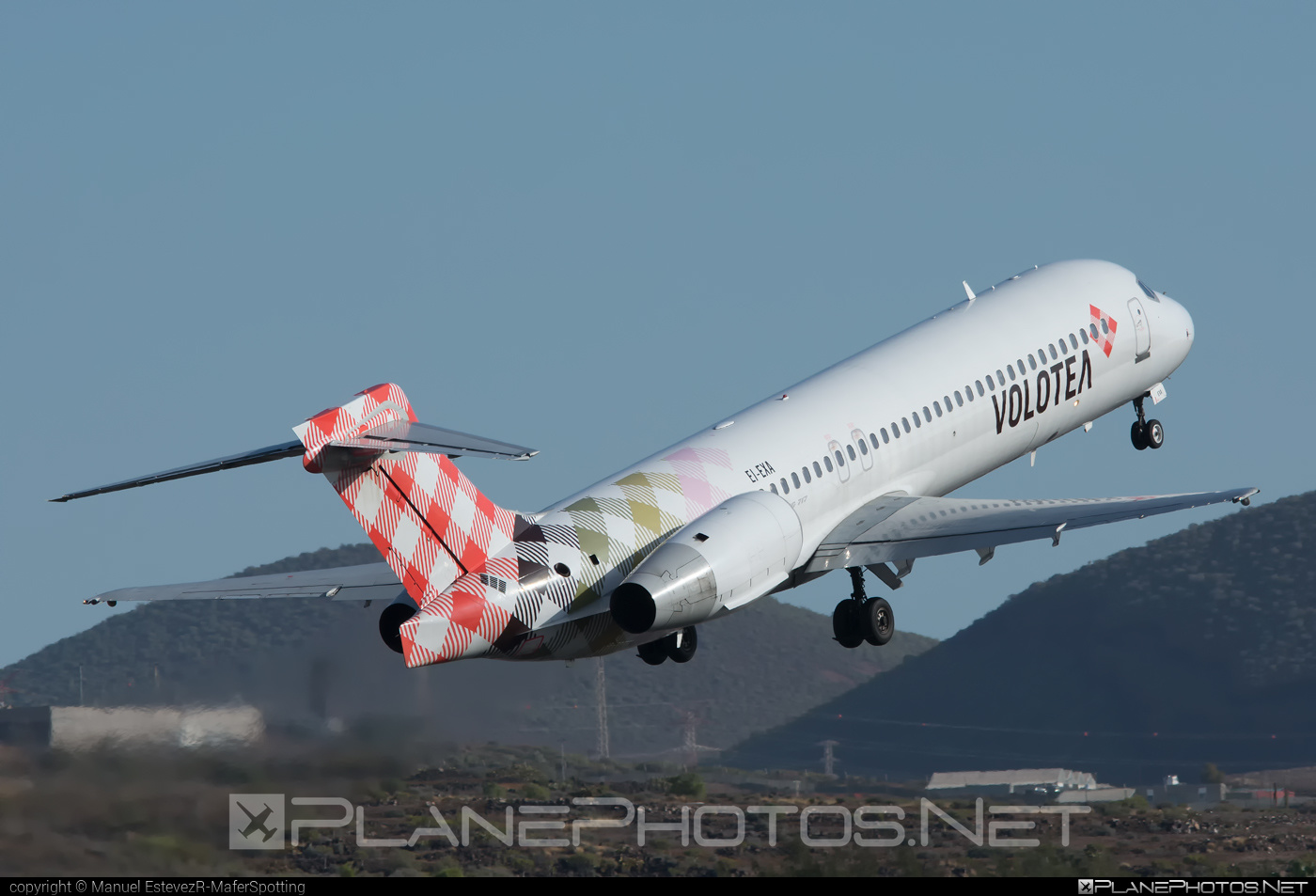 Boeing 717-200 - EI-EXA operated by Volotea #b717 #boeing #boeing717