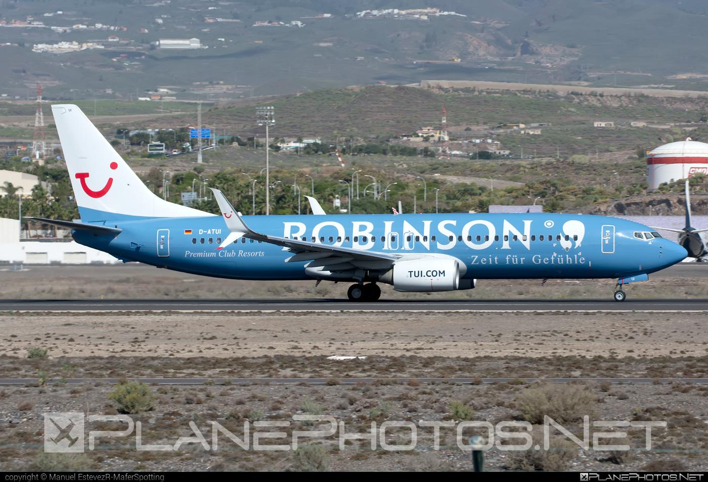 Boeing 737-800 - D-ATUI operated by TUIfly #b737 #b737nextgen #b737ng #boeing #boeing737 #tui #tuifly