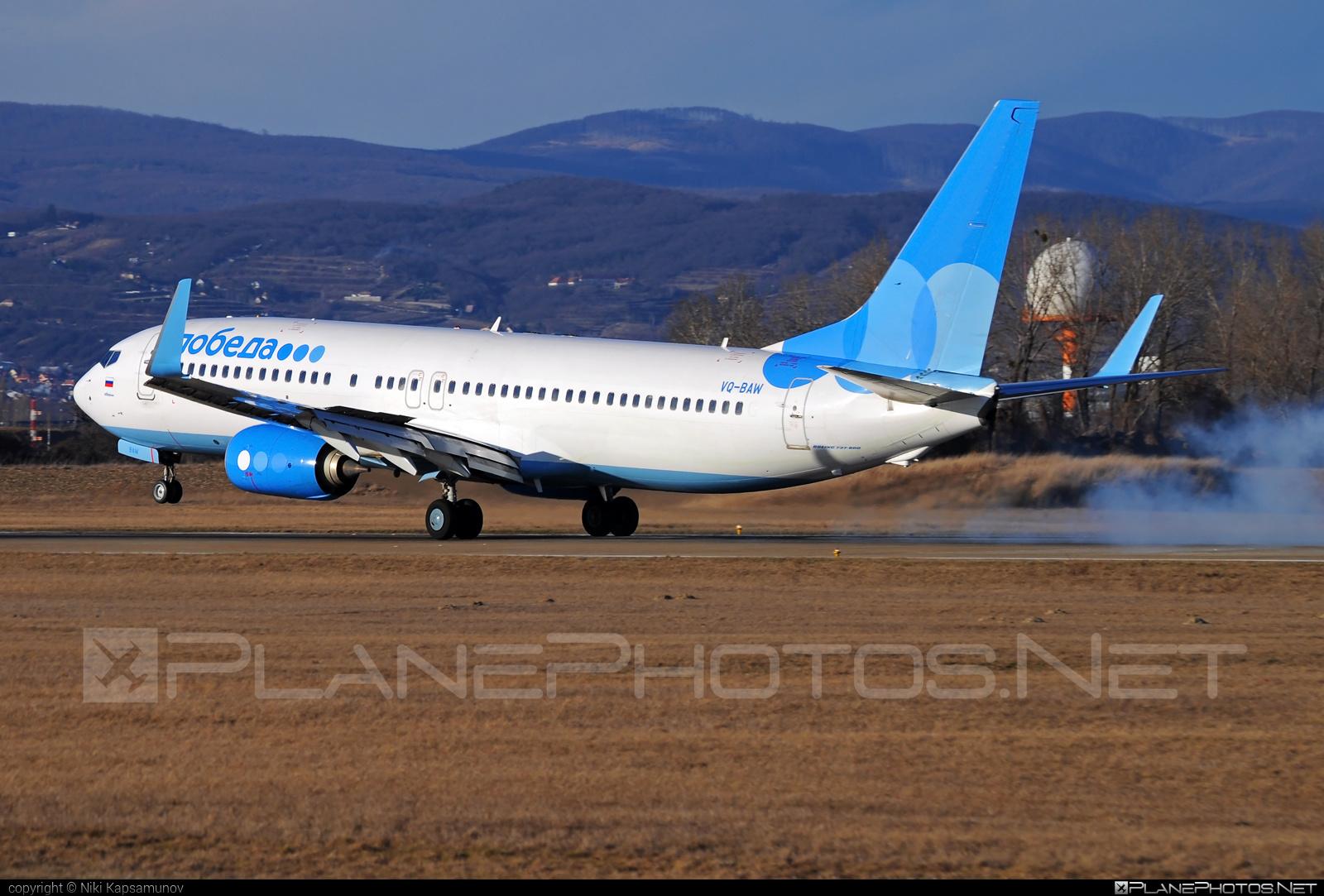 Boeing 737-800 - VQ-BAW operated by Pobeda #b737 #b737nextgen #b737ng #boeing #boeing737