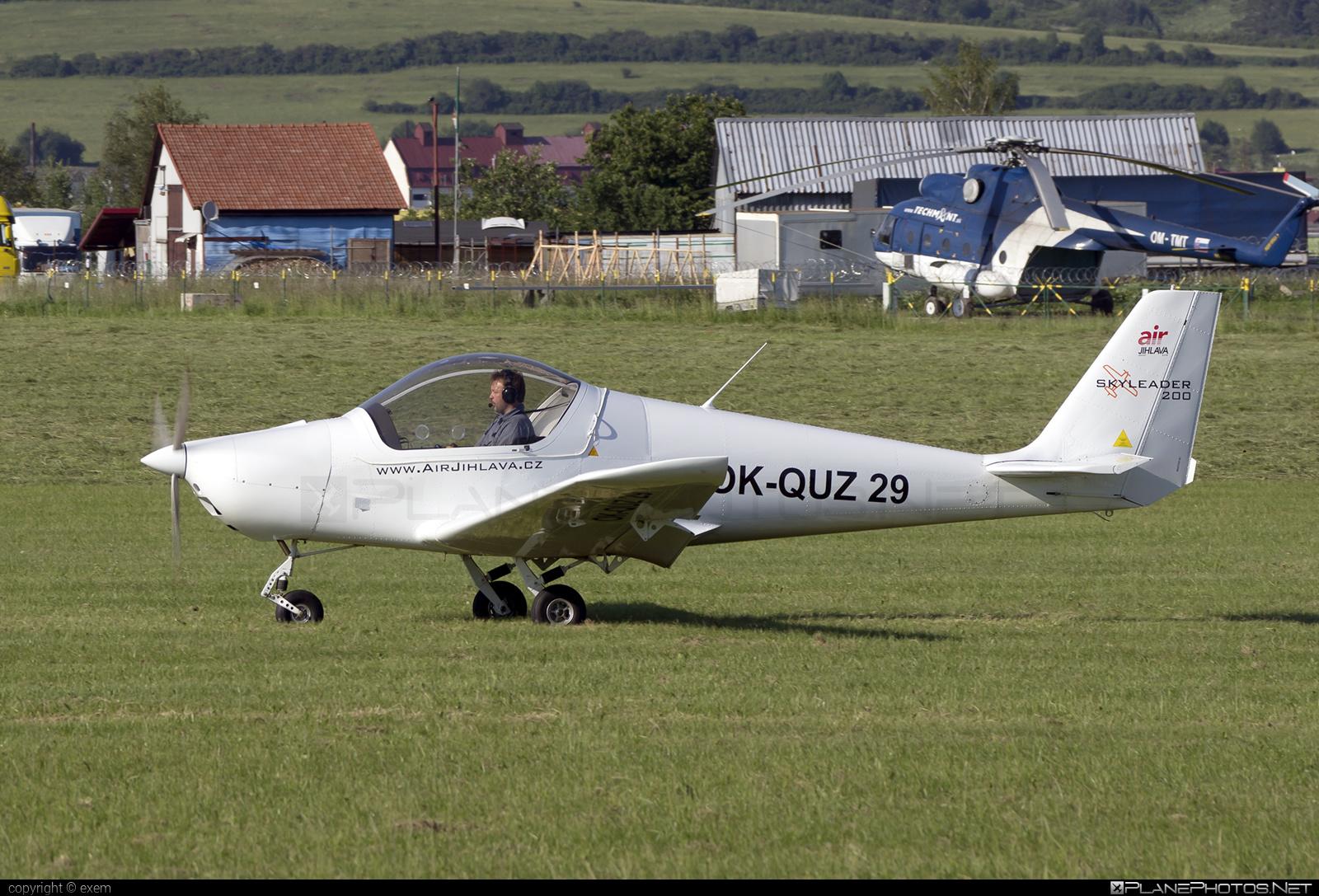 JIHLAVAN airplanes SKYLEADER 200 - OK-QUZ 29 operated by Air Jihlava - service s.r.o. #jihlavanairplanes
