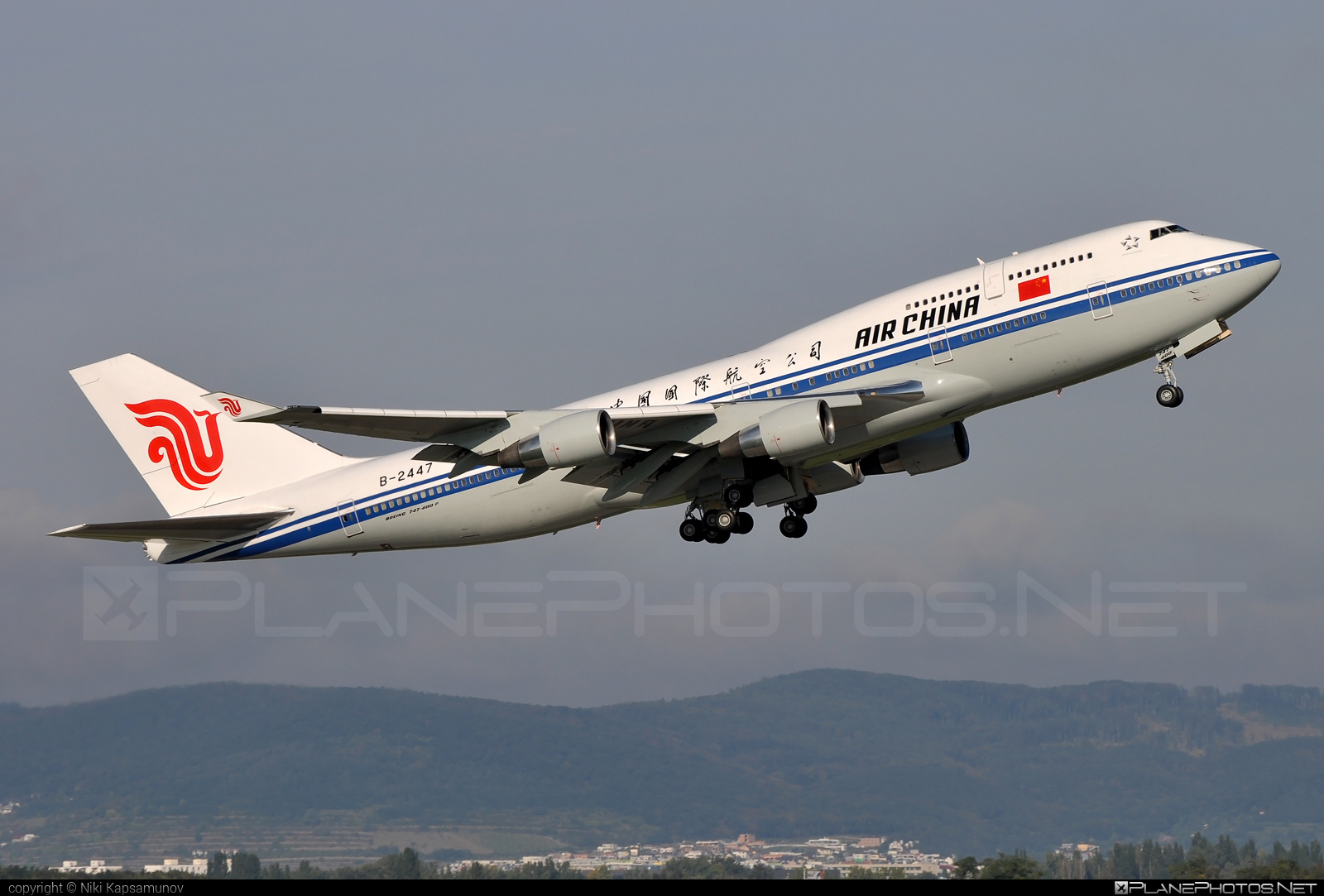 Air China Boeing 747-400 - B-2447 #airchina #b747 #boeing