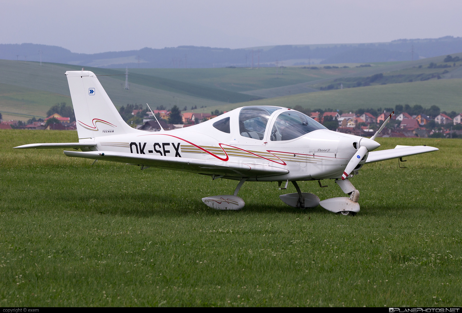 Tecnam P2002JF Sierra - OK-SEX operated by F Air #tecnam
