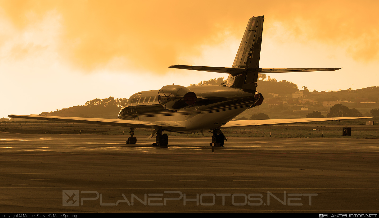 Cessna 680 Citation Sovereign - EC-MLV operated by TAG Aviation #cessna