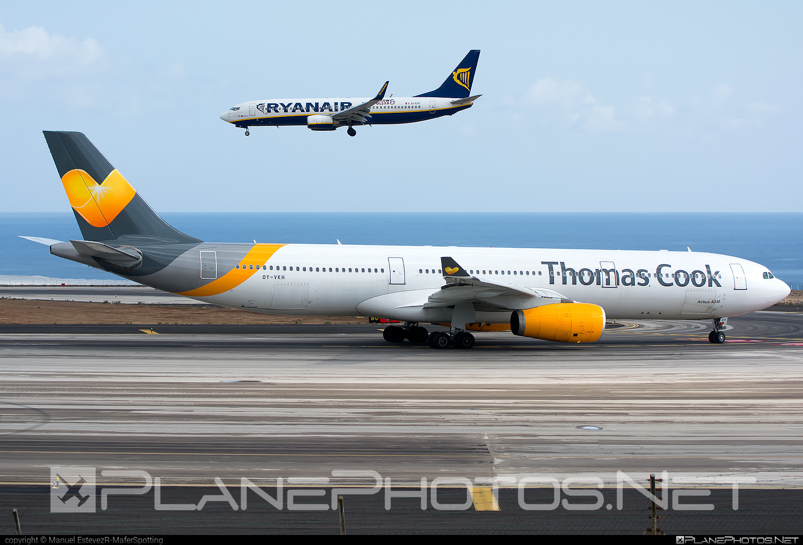 Thomas Cook Airlines Scandinavia Airbus A330-343 - OY-VKH #a330 #a330family #airbus