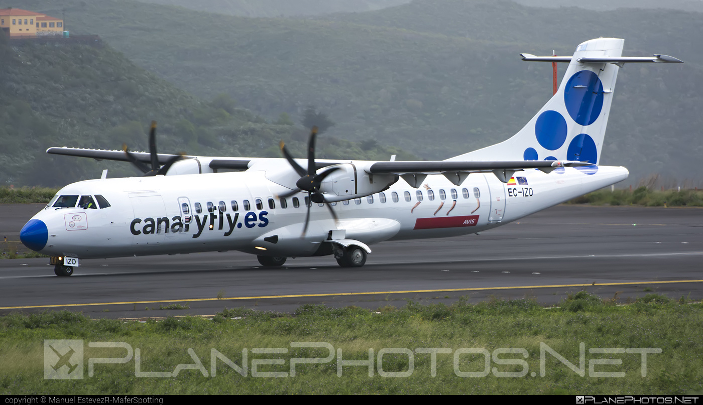 ATR 72-212A - EC-IZO operated by Canaryfly #atr