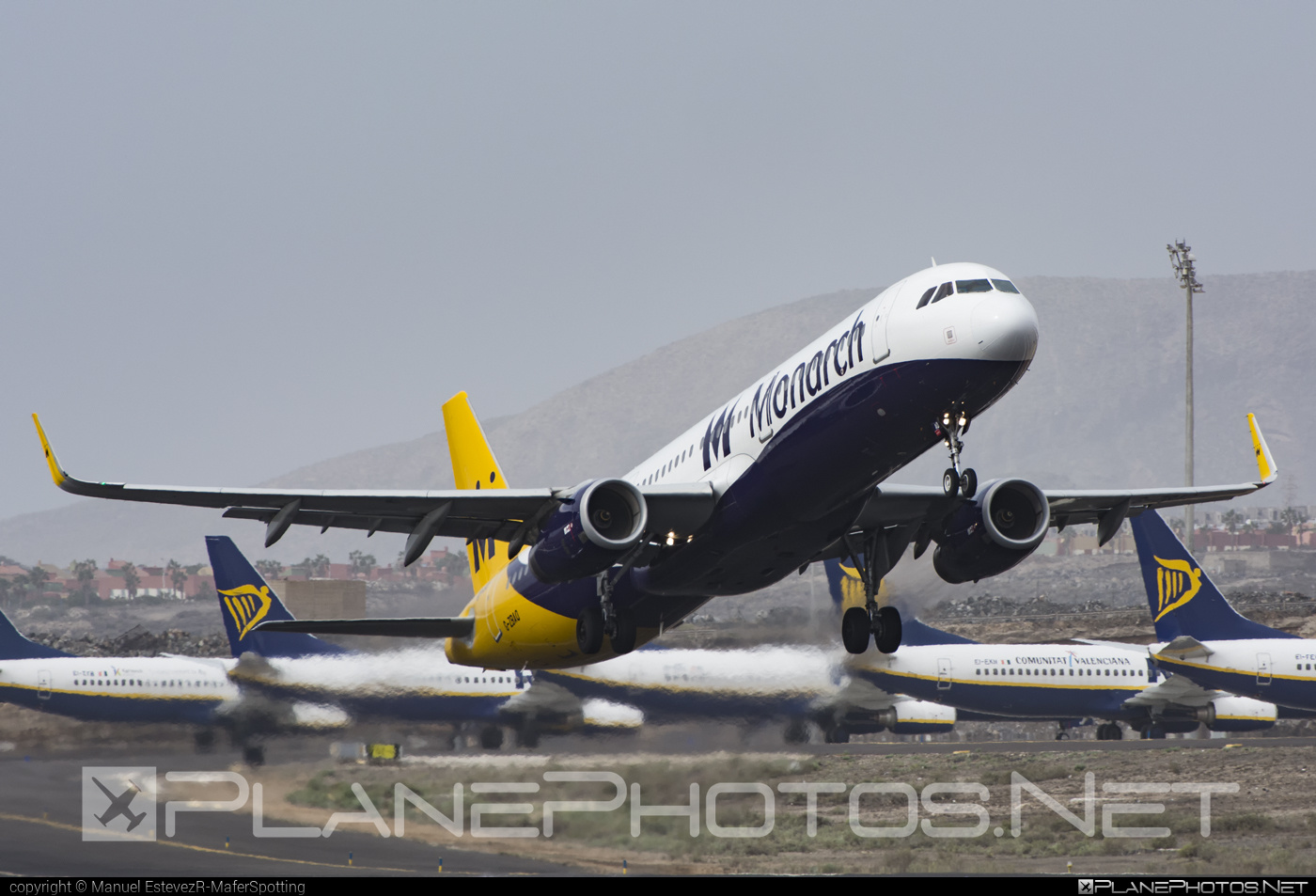 Airbus A321-231 - G-ZBAO operated by Monarch Airlines #a320family #a321 #airbus #airbus321