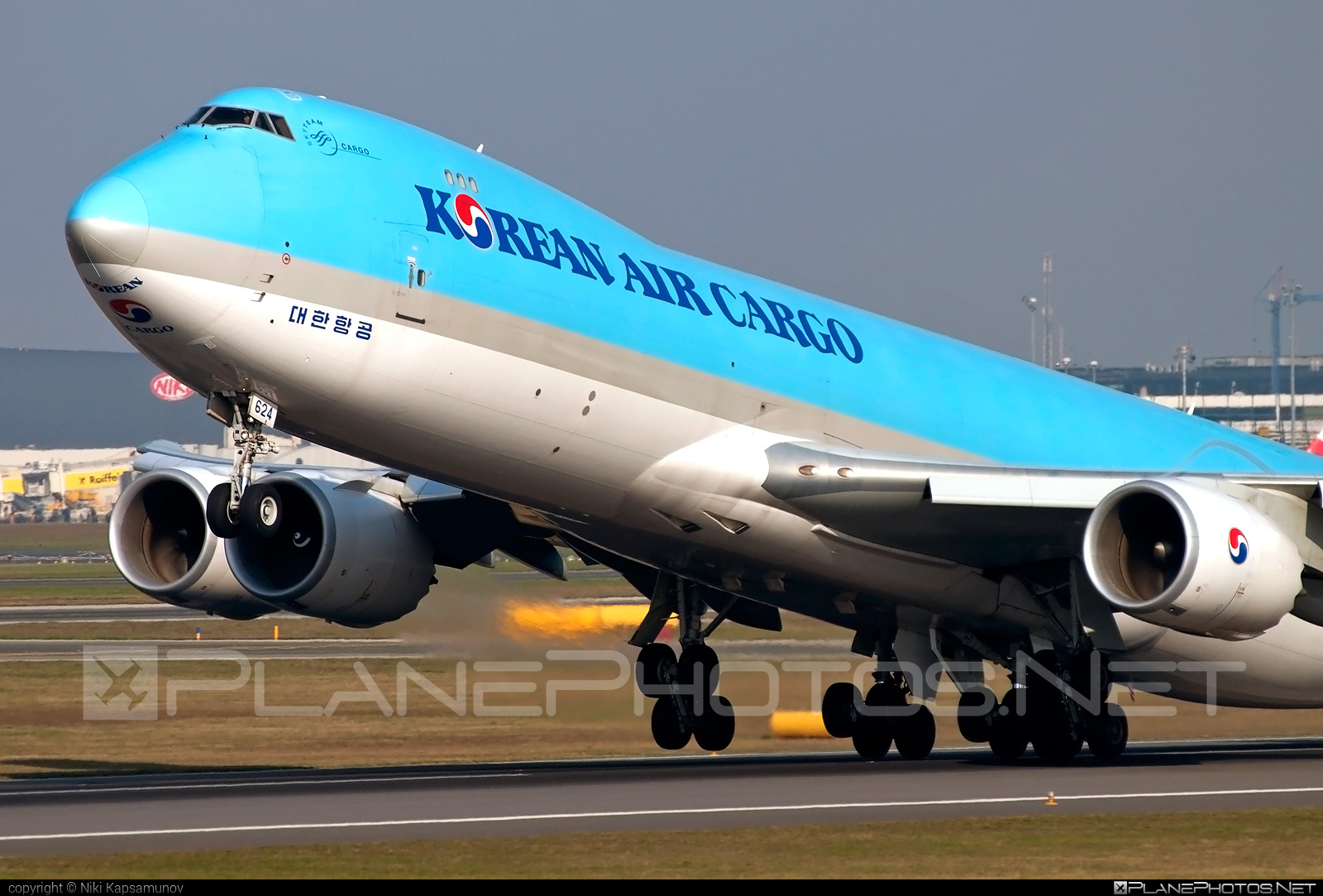 Boeing 747-8F - HL7624 operated by Korean Air Cargo #b747 #b747f #b747freighter #boeing #boeing747 #jumbo #koreanair #koreanaircargo