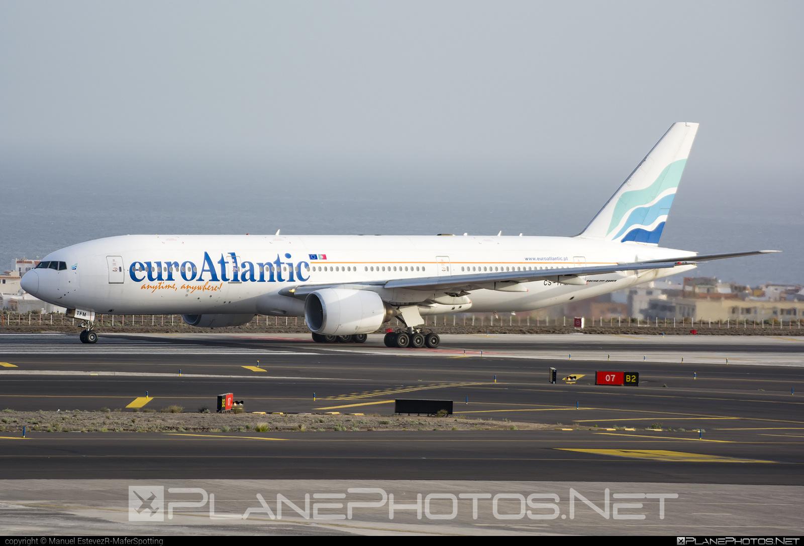 Boeing 777-200ER - CS-TFM operated by euroAtlantic Airways #b777 #b777er #boeing #boeing777 #euroatlantic #euroatlanticairways #tripleseven