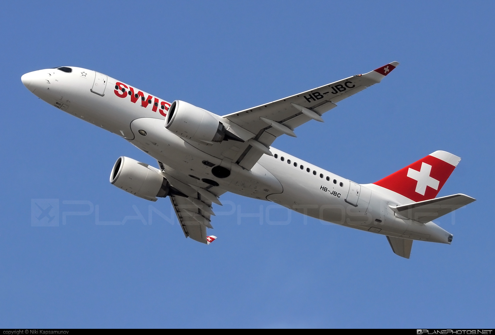 Bombardier BD-500-1A10 C Series CS100 - HB-JBC operated by Swiss International Air Lines #bombardier #cs100 #cseries #cseries100 #swiss #swissairlines