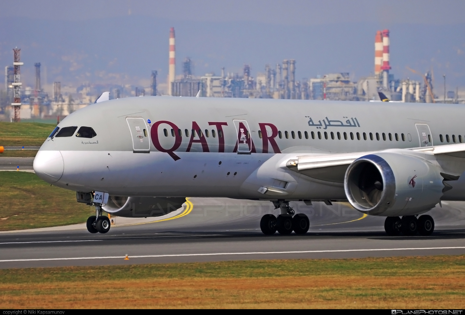 Boeing 787-8 Dreamliner - A7-BCA operated by Qatar Airways #b787 #boeing #boeing787 #dreamliner #qatarairways
