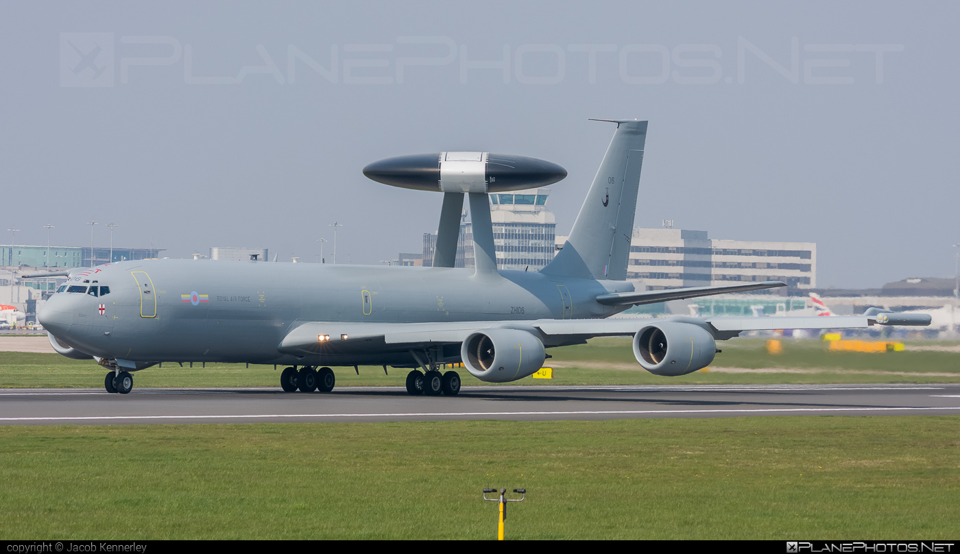 Boeing Sentry AEW.1 - ZH106 operated by Royal Air Force (RAF) #boeing #raf #royalairforce