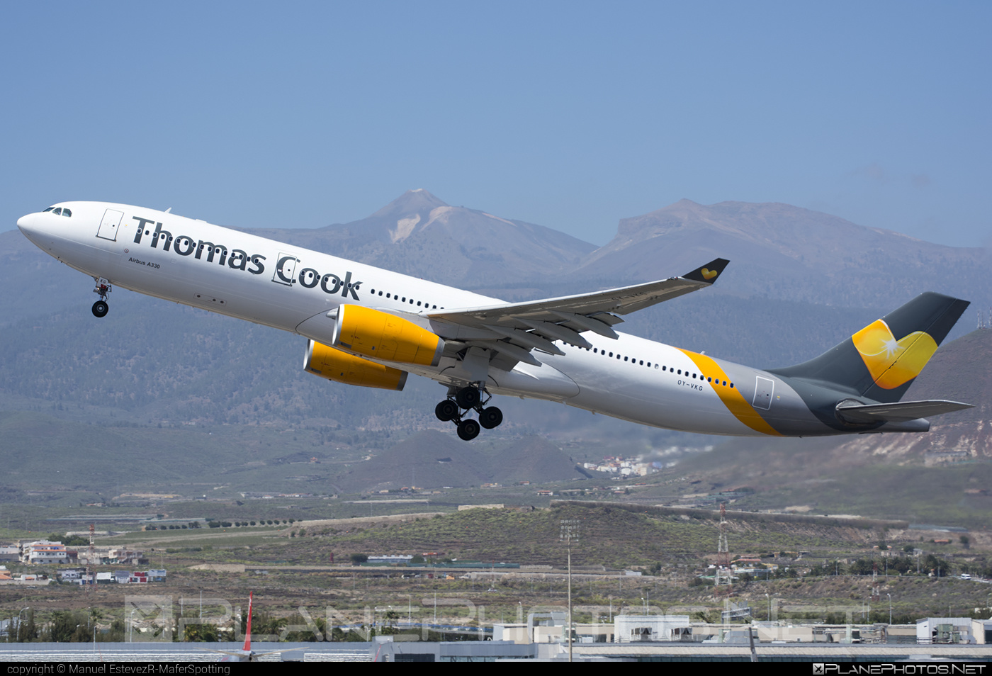 Airbus A330-343 - OY-VKG operated by Thomas Cook Airlines Scandinavia #a330 #a330family #airbus #airbus330