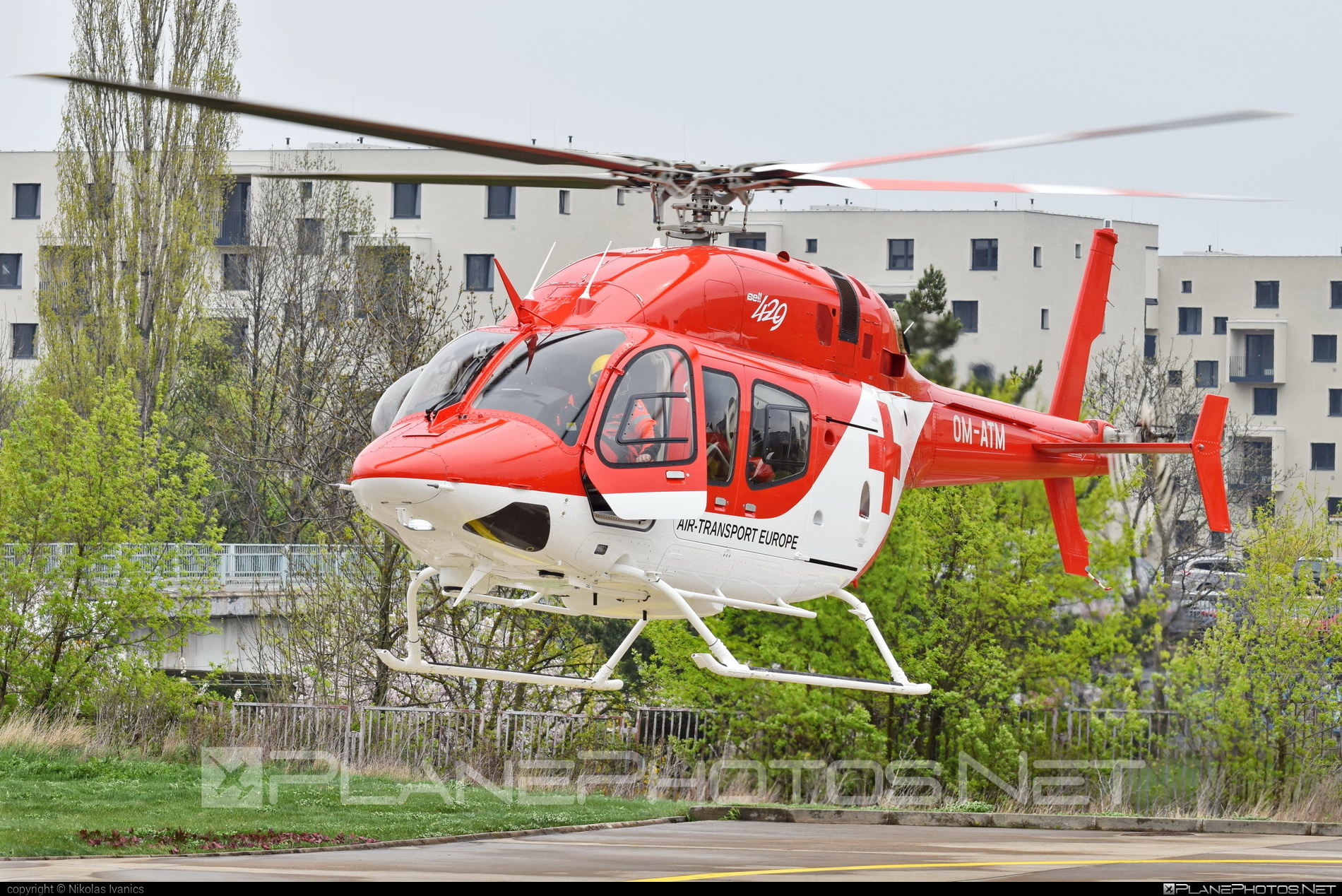 Bell 429 - OM-ATM operated by Air Transport Europe #airtransporteurope #bell #bell429 #bellhelicopters