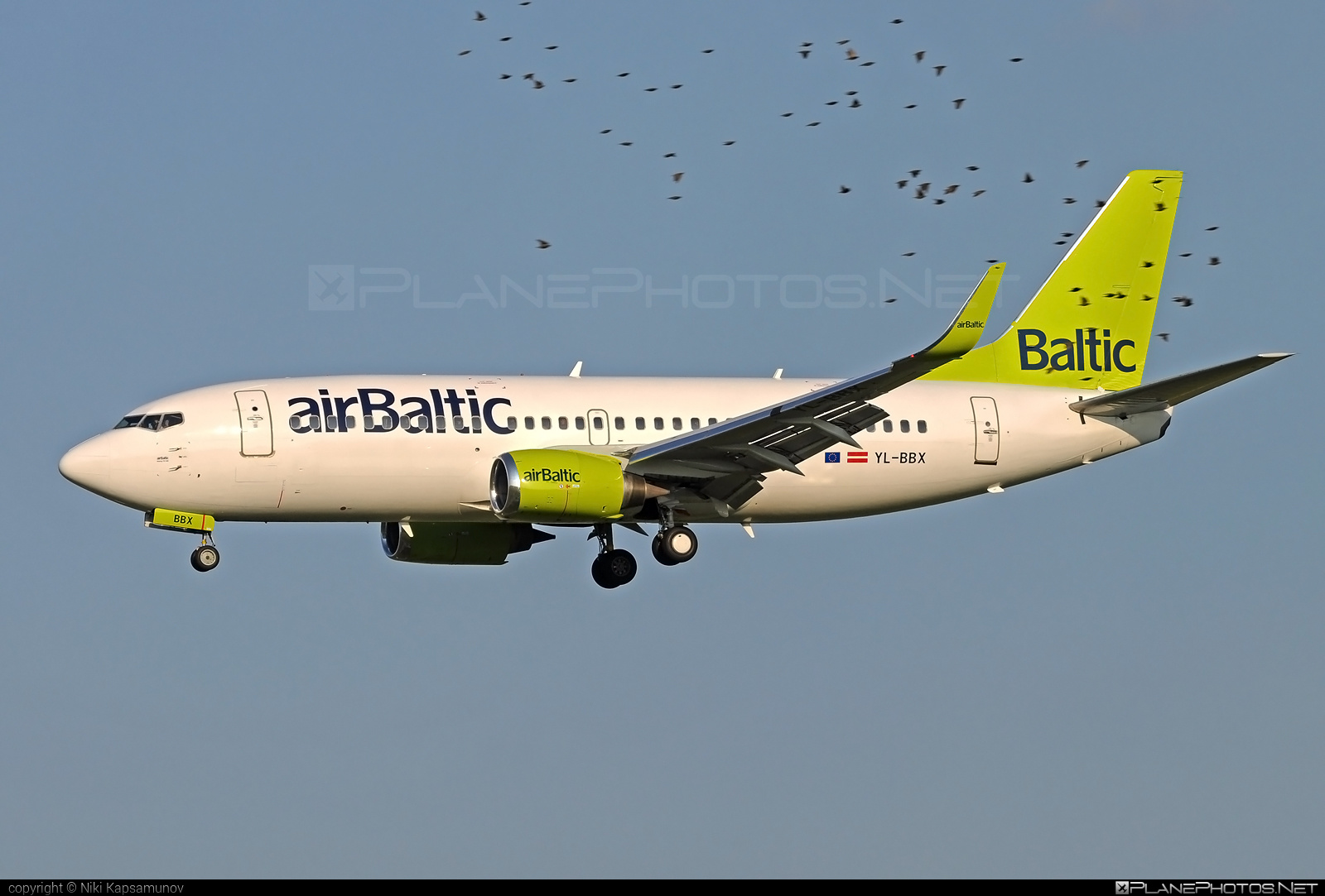 Boeing 737-300 - YL-BBX operated by Air Baltic #airbaltic #b737 #boeing #boeing737