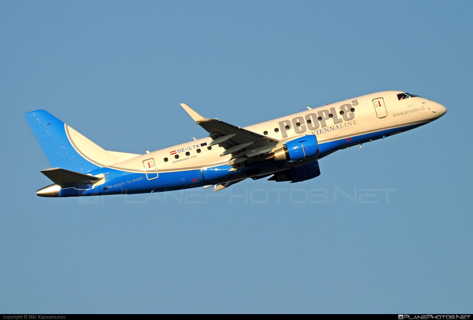 Embraer E170STD (ERJ-170-100STD) - OE-LTK operated by People`s Viennaline #e170 #embraer #embraer170 #embraer170std #erj170 #erj170100 #erj170100std #erj170std