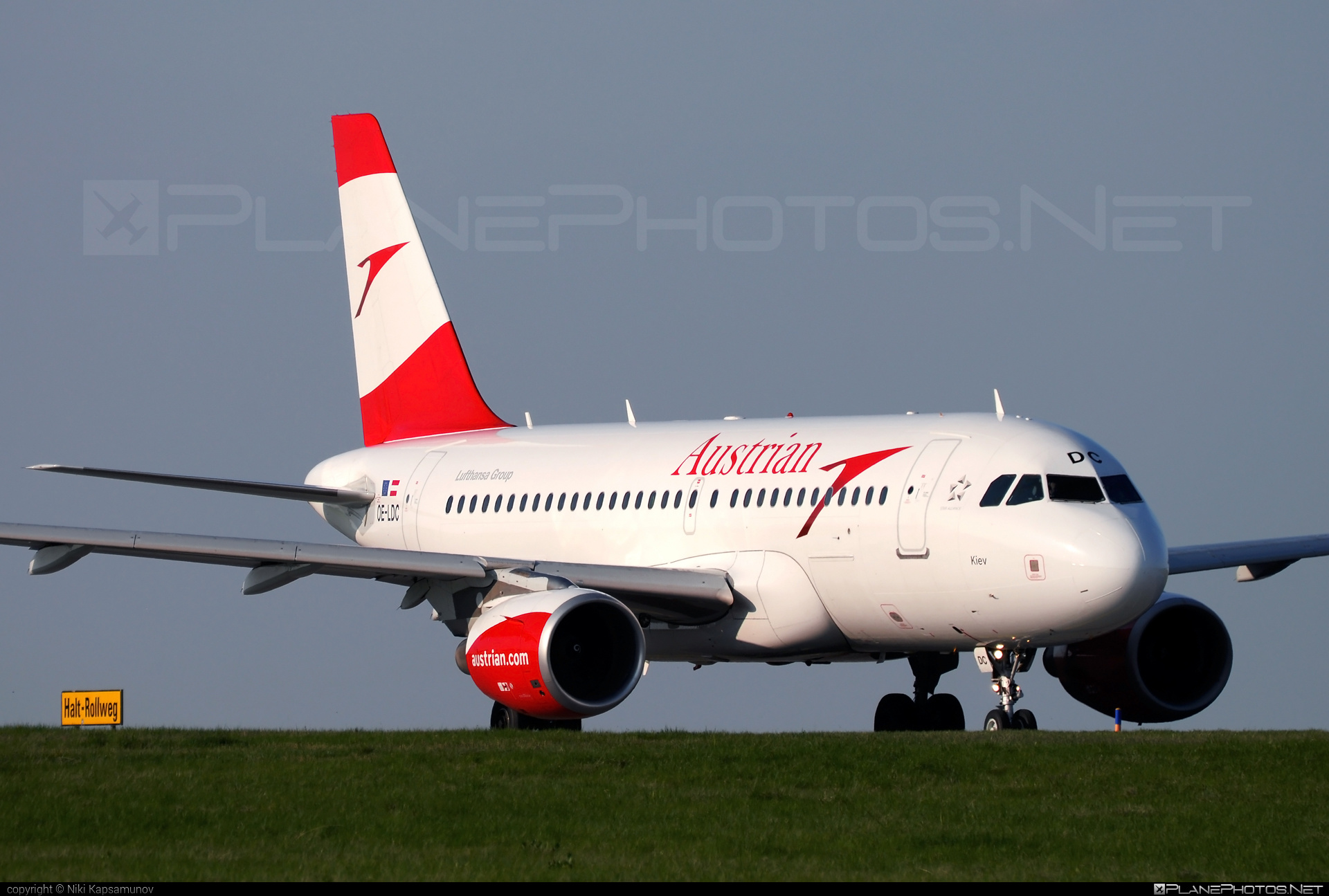 Airbus A319-112 - OE-LDC operated by Austrian Airlines #a319 #a320family #airbus #airbus319