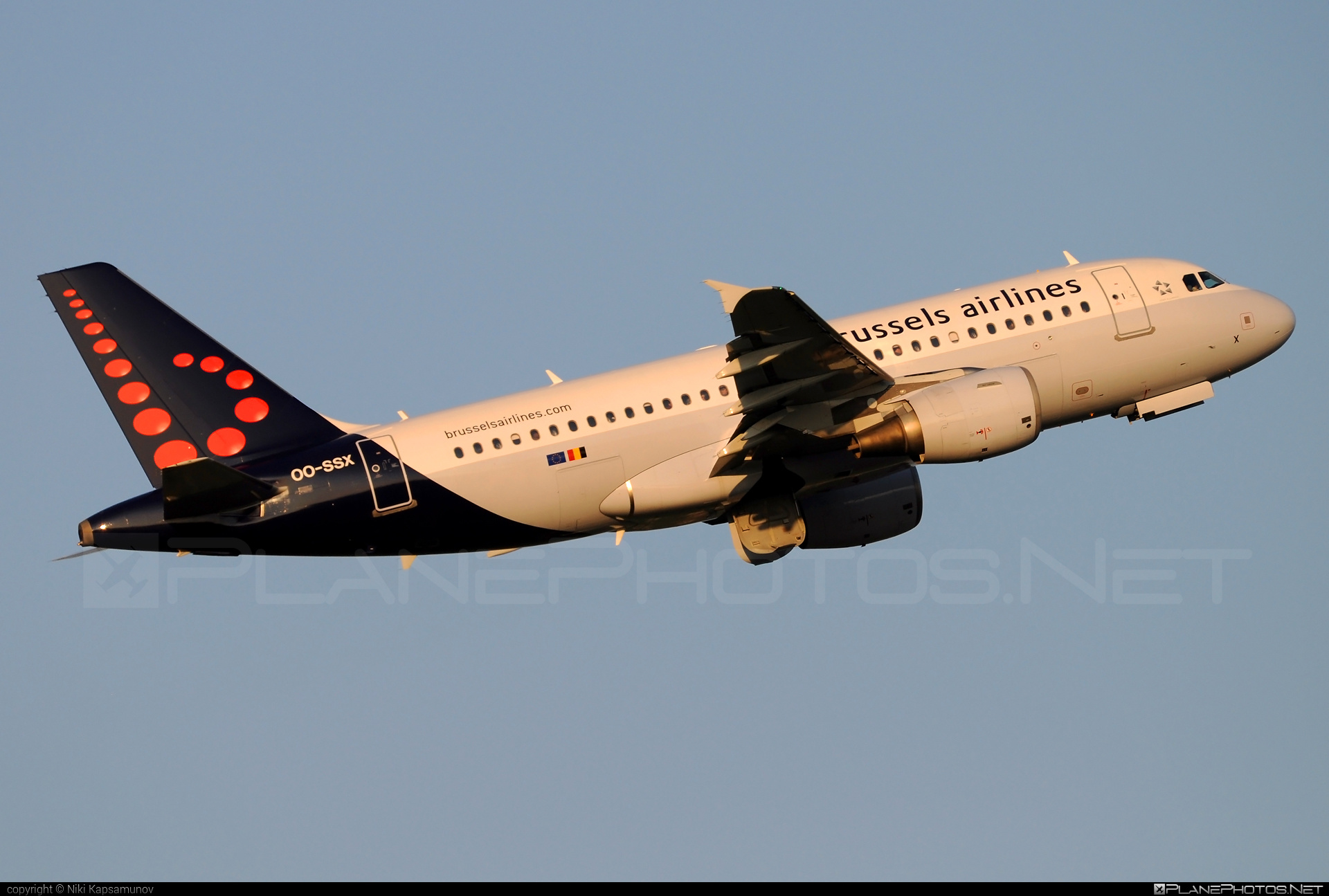 Airbus A319-111 - OO-SSX operated by Brussels Airlines #a319 #a320family #airbus #airbus319 #brusselsairlines