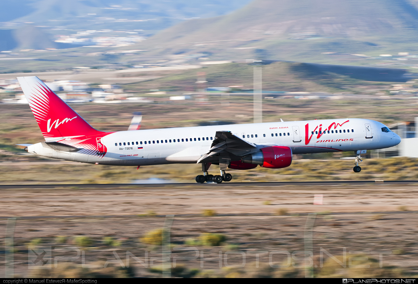 Boeing 757-200 - RA-73016 operated by Vim Airlines #b757 #boeing #boeing757