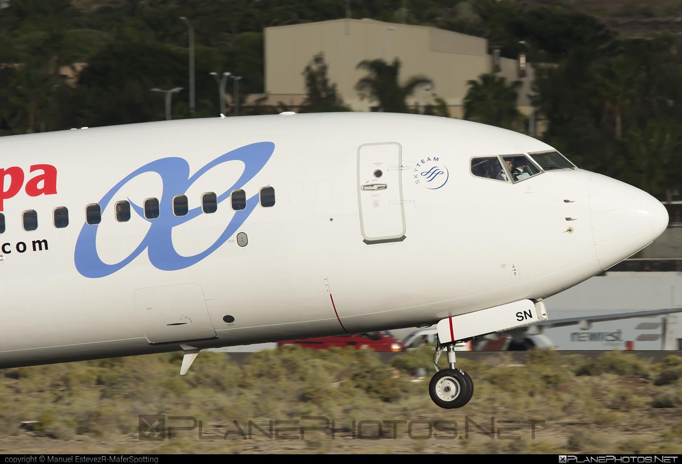 Air Europa Boeing 737-800 - EC-ISN #b737 #b737nextgen #b737ng #boeing