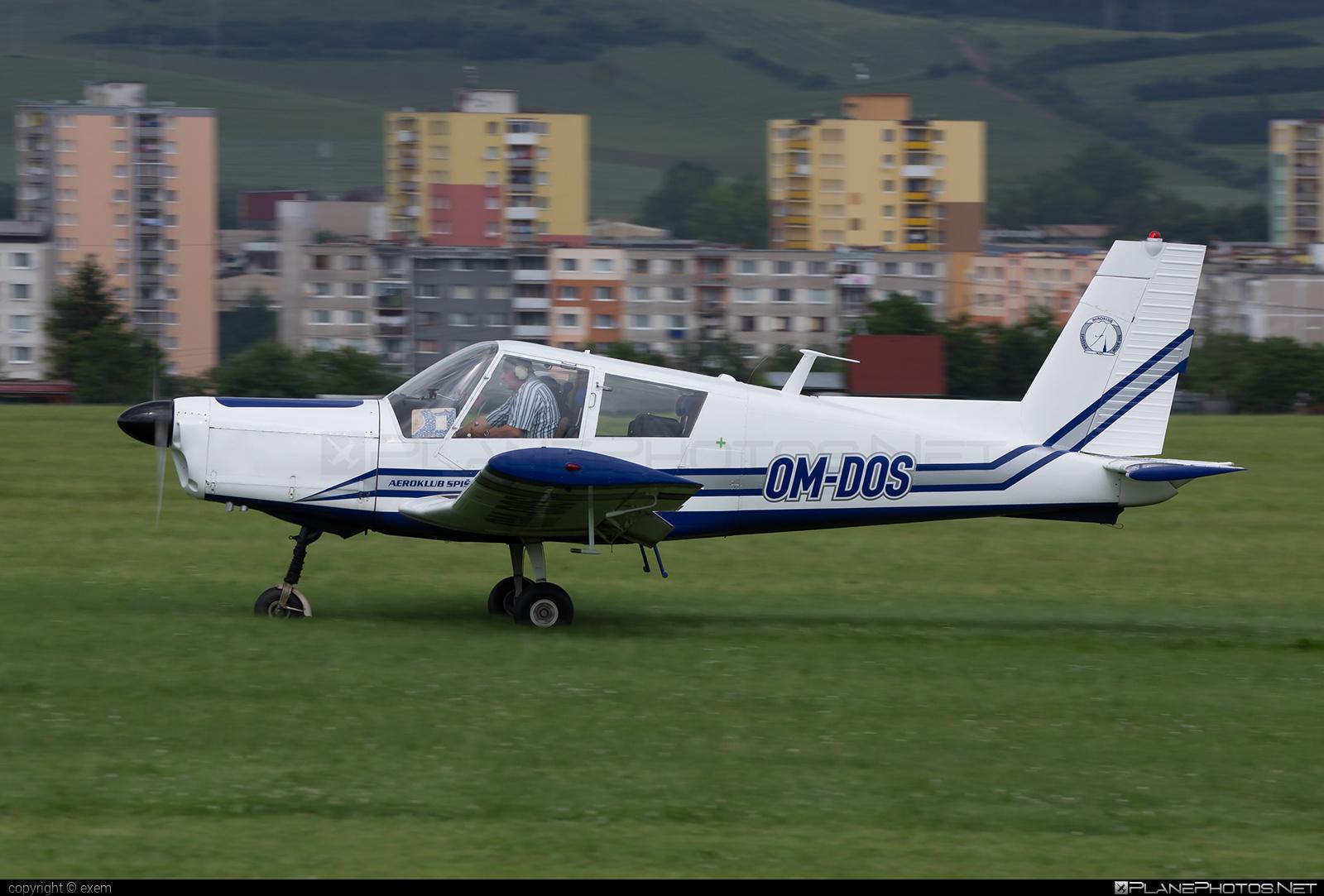 Aeroklub Spišská Nová Ves Zlin Z-43 - OM-DOS #z43 #zlin #zlin43