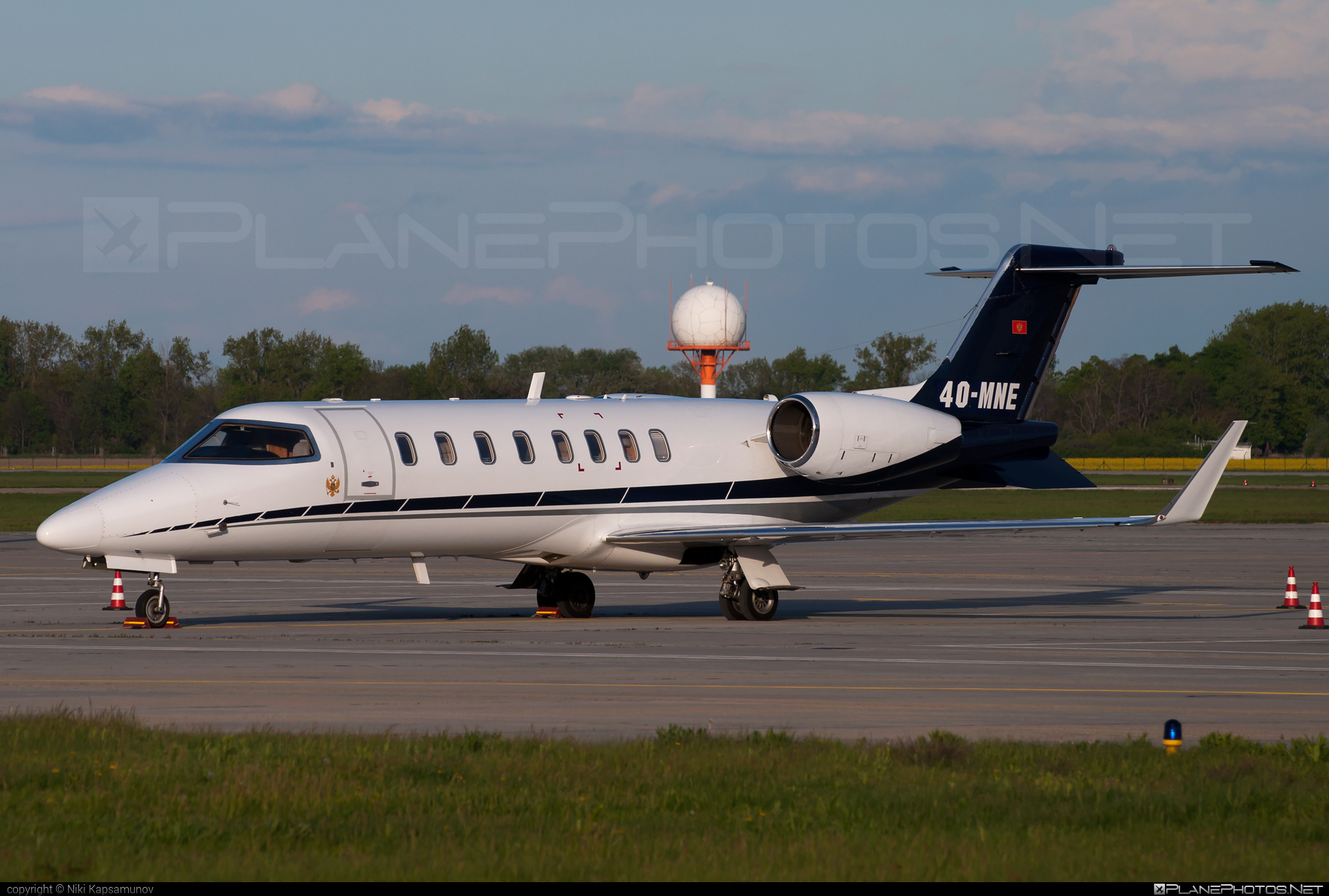 Bombardier Learjet 45 - 4O-MNE operated by Montenegro - Government #bombardier #learjet #learjet45