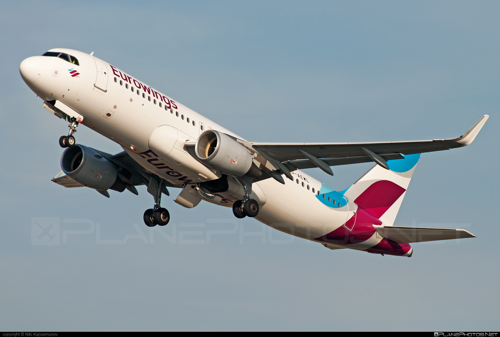 Airbus A320-214 - D-AEWL operated by Eurowings #a320 #a320family #airbus #airbus320 #eurowings