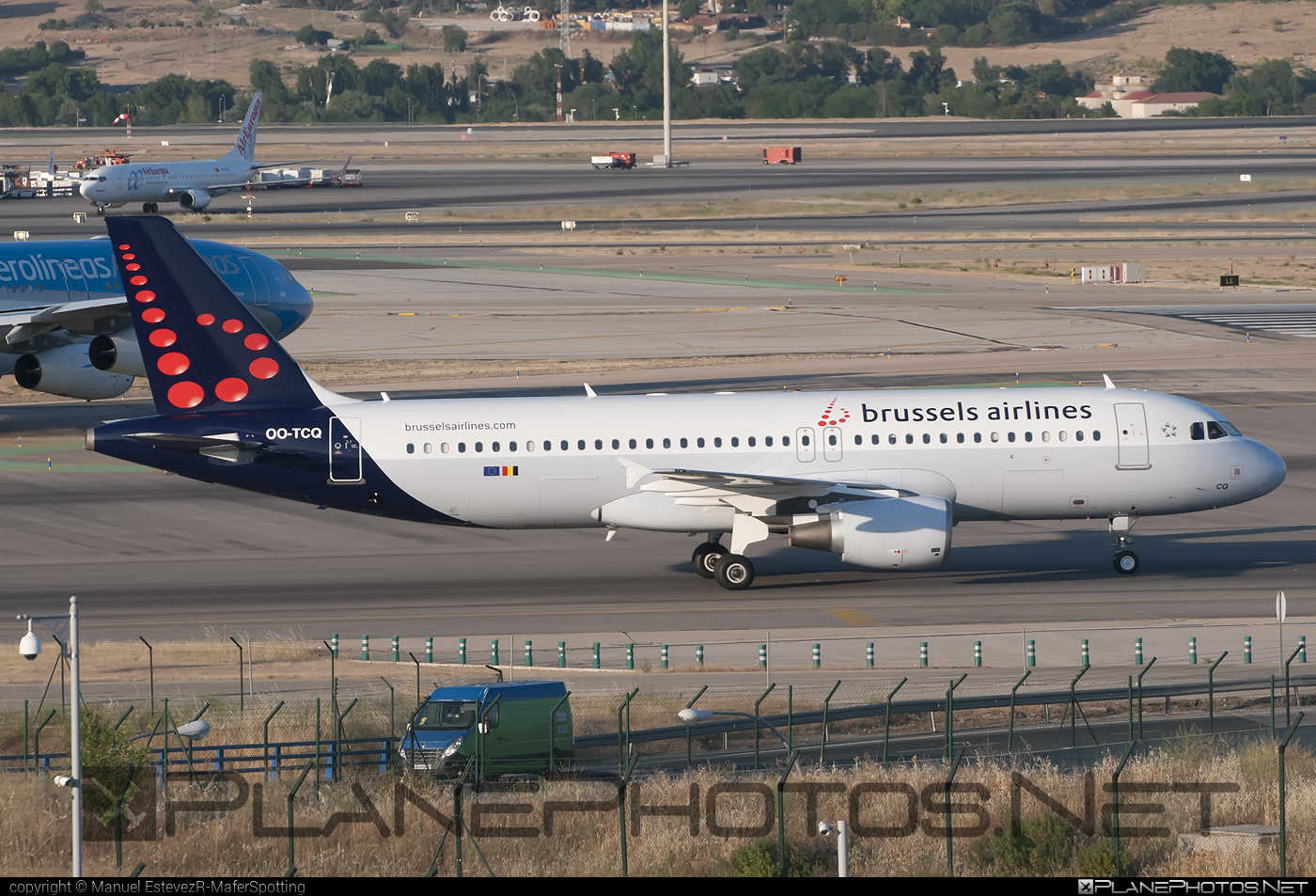 Airbus A320-214 - OO-TCQ operated by Brussels Airlines #a320 #a320family #airbus #airbus320 #brusselsairlines