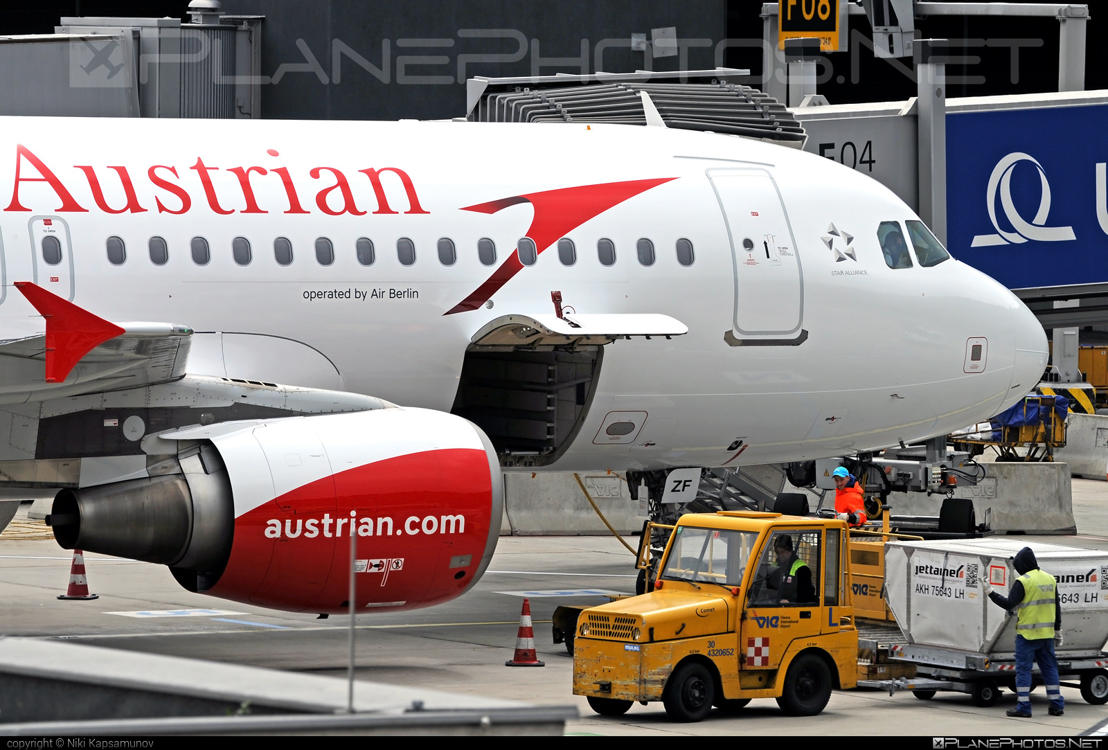Airbus A320-216 - D-ABZF operated by Austrian Airlines #a320 #a320family #airbus #airbus320