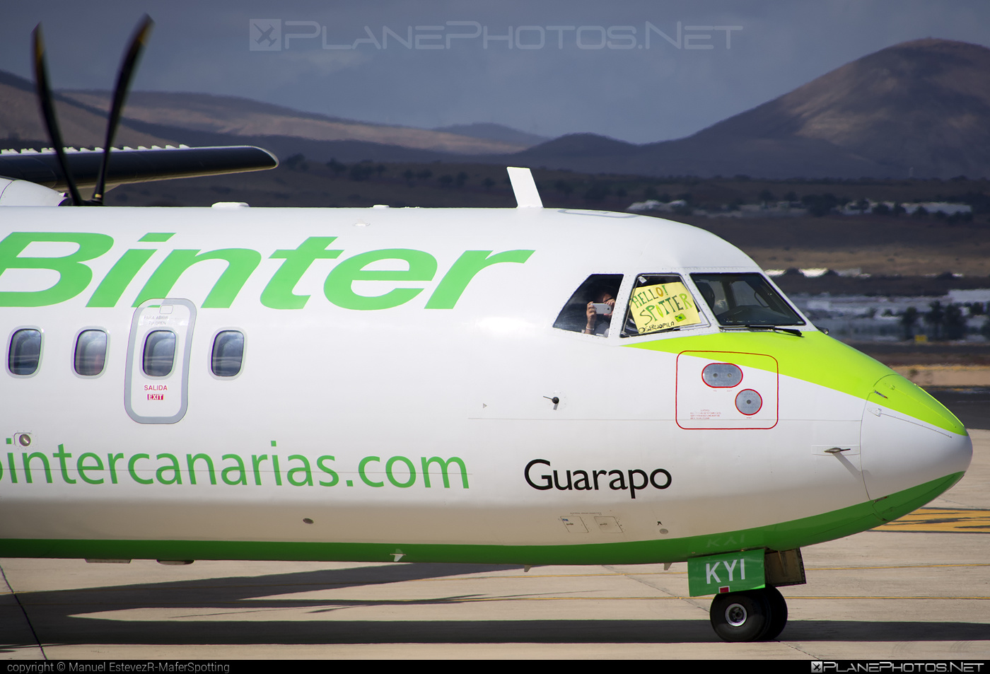 ATR 72-212A - EC-KYI operated by Binter Canarias #atr