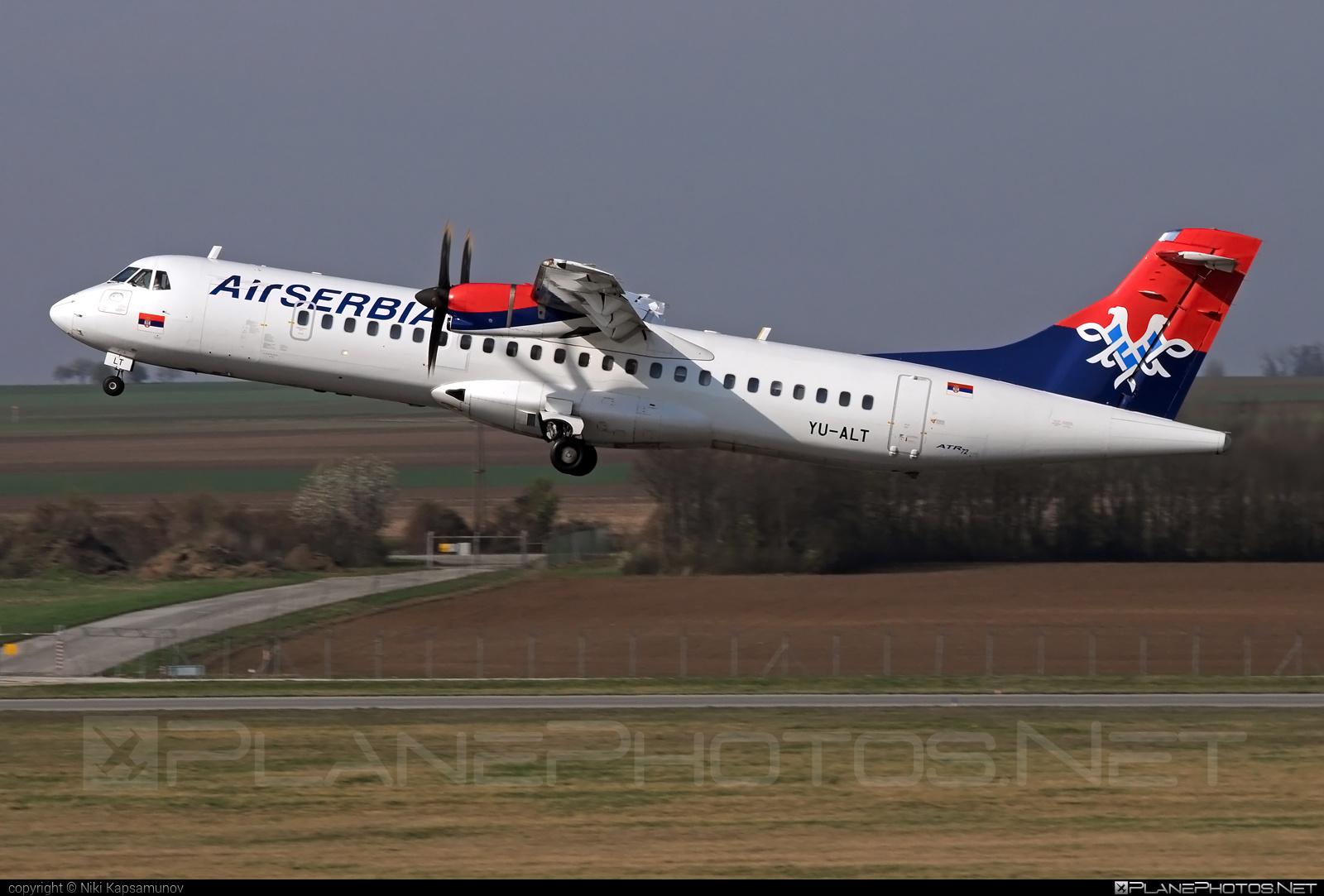 ATR 72-212A - YU-ALT operated by Air Serbia #atr