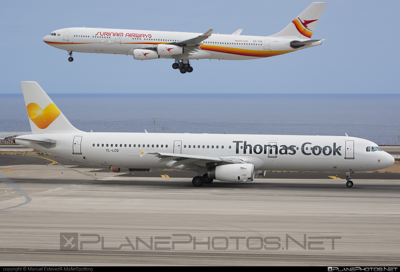 Airbus A321-231 - YL-LCQ operated by Thomas Cook Airlines #a320family #a321 #airbus #airbus321