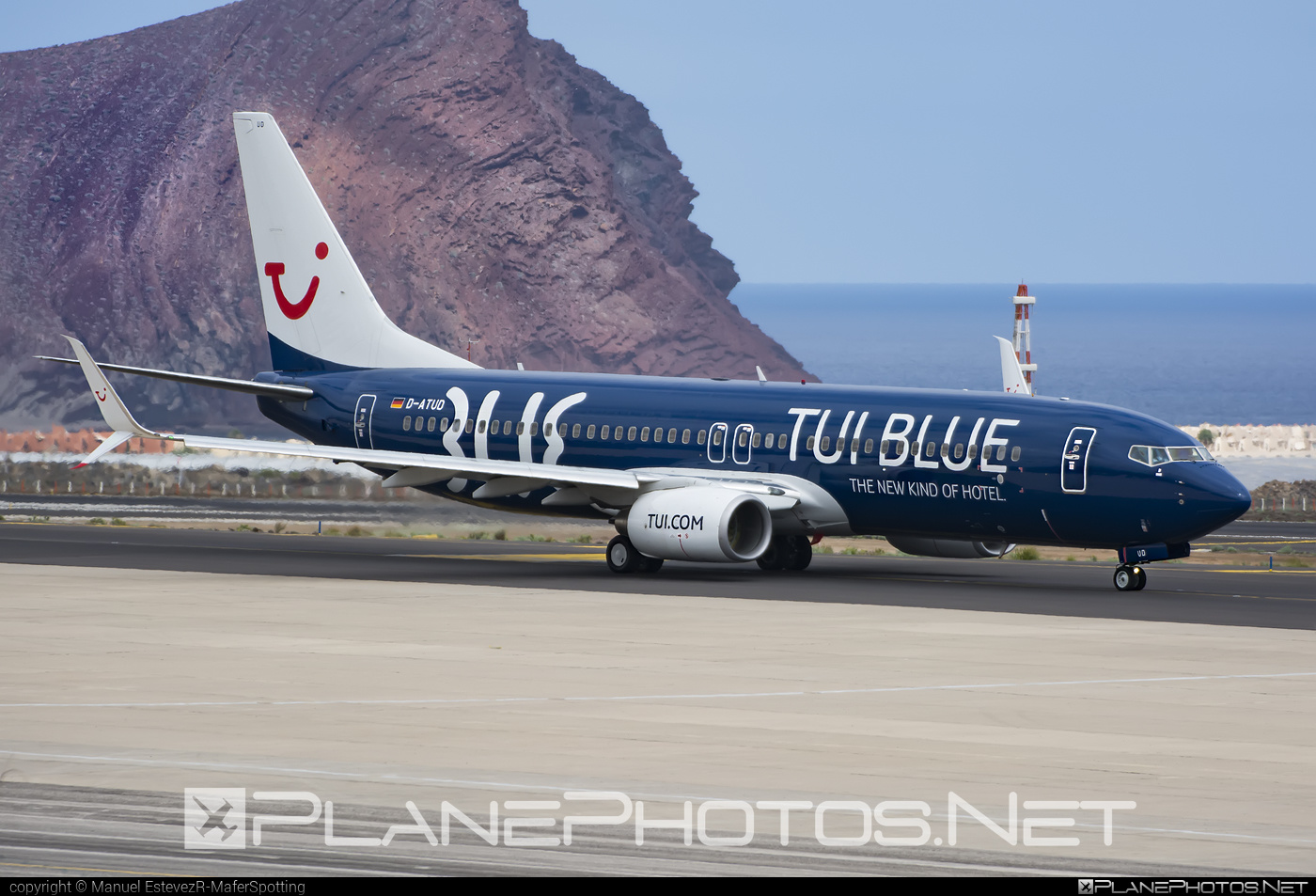 Boeing 737-800 - D-ATUD operated by TUIfly #b737 #b737nextgen #b737ng #boeing #boeing737 #tui #tuifly
