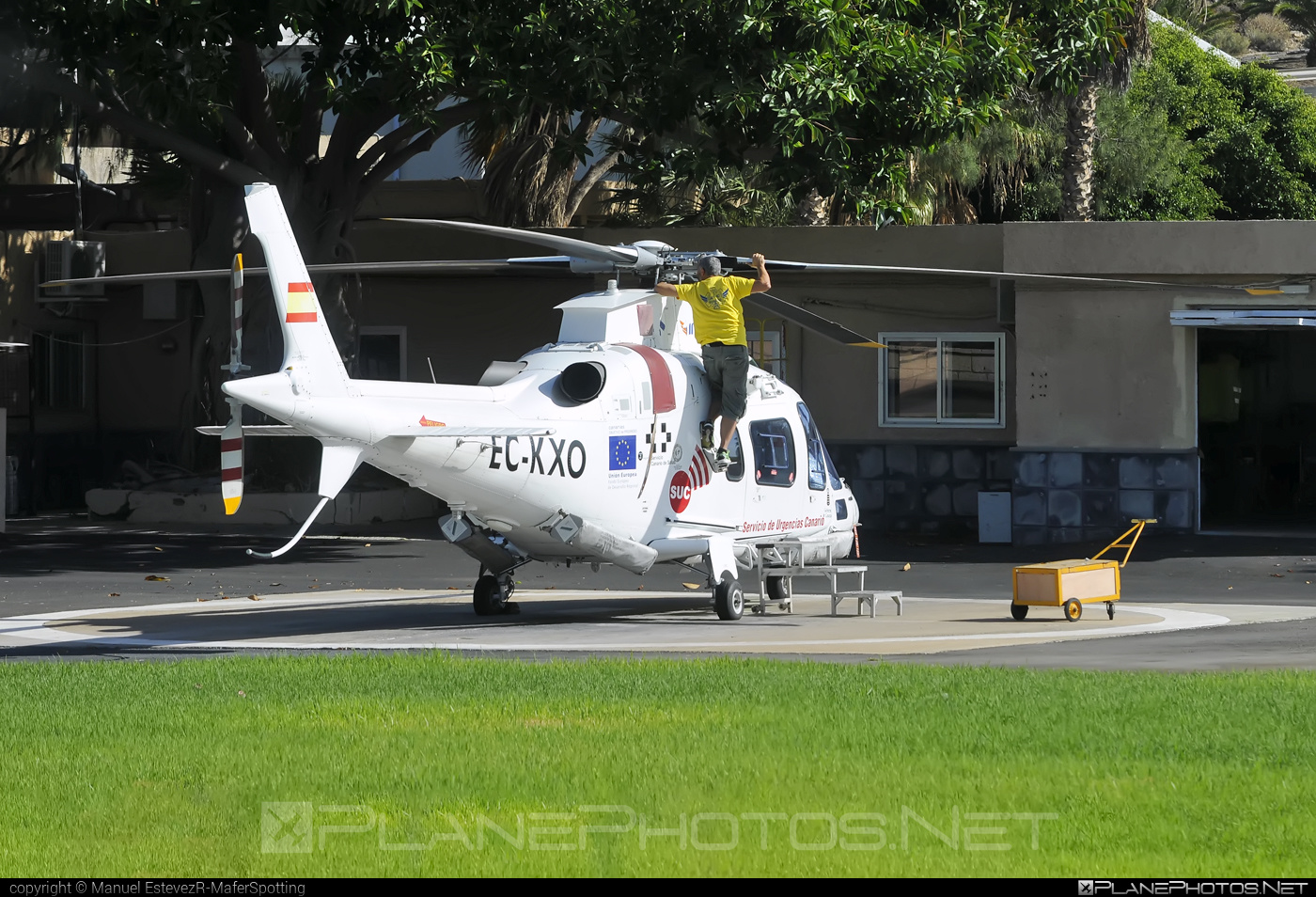 Agusta A109E Power - EC-KXO operated by Inaer #a109 #a109e #a109power #agusta #agusta109 #agustaa109 #agustaa109e