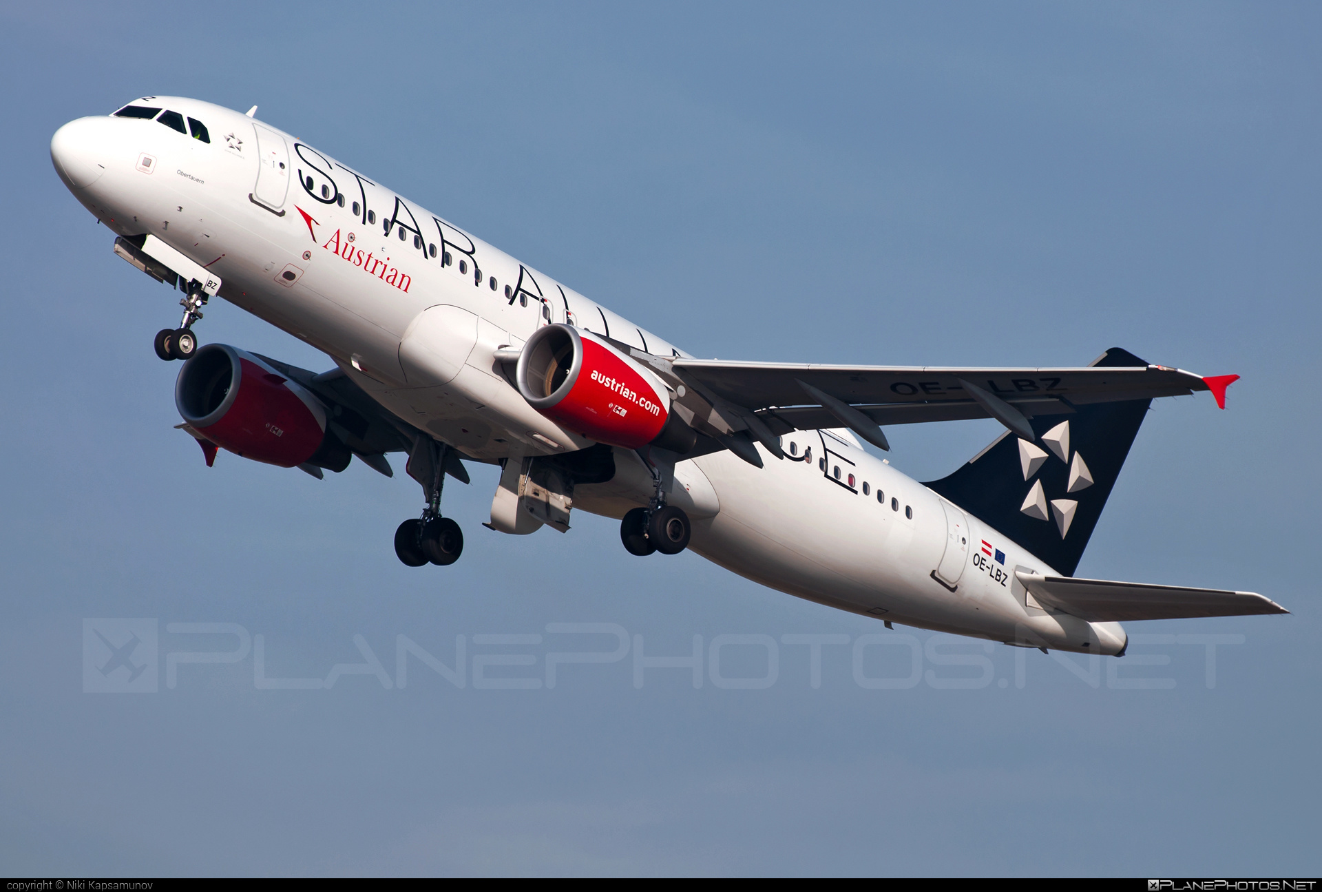Airbus A320-214 - OE-LBZ operated by Austrian Airlines #a320 #a320family #airbus #airbus320 #staralliance
