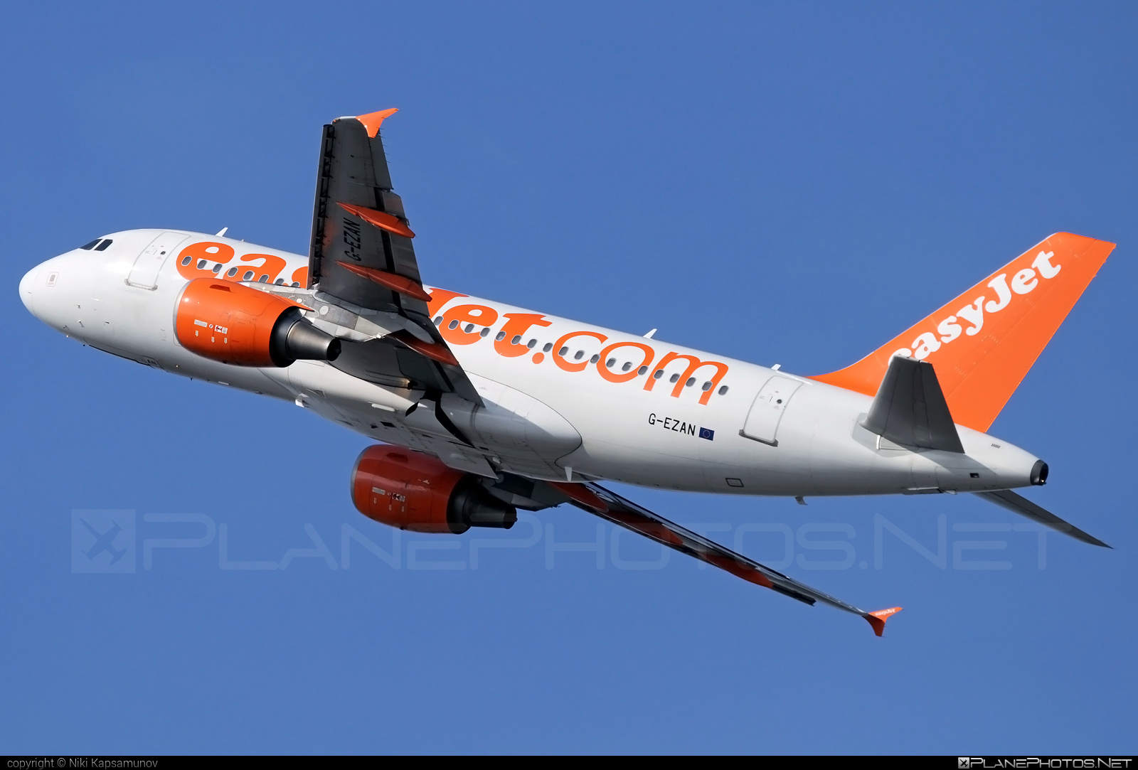 Airbus A319-111 - G-EZAN operated by easyJet #a319 #a320family #airbus #airbus319 #easyjet