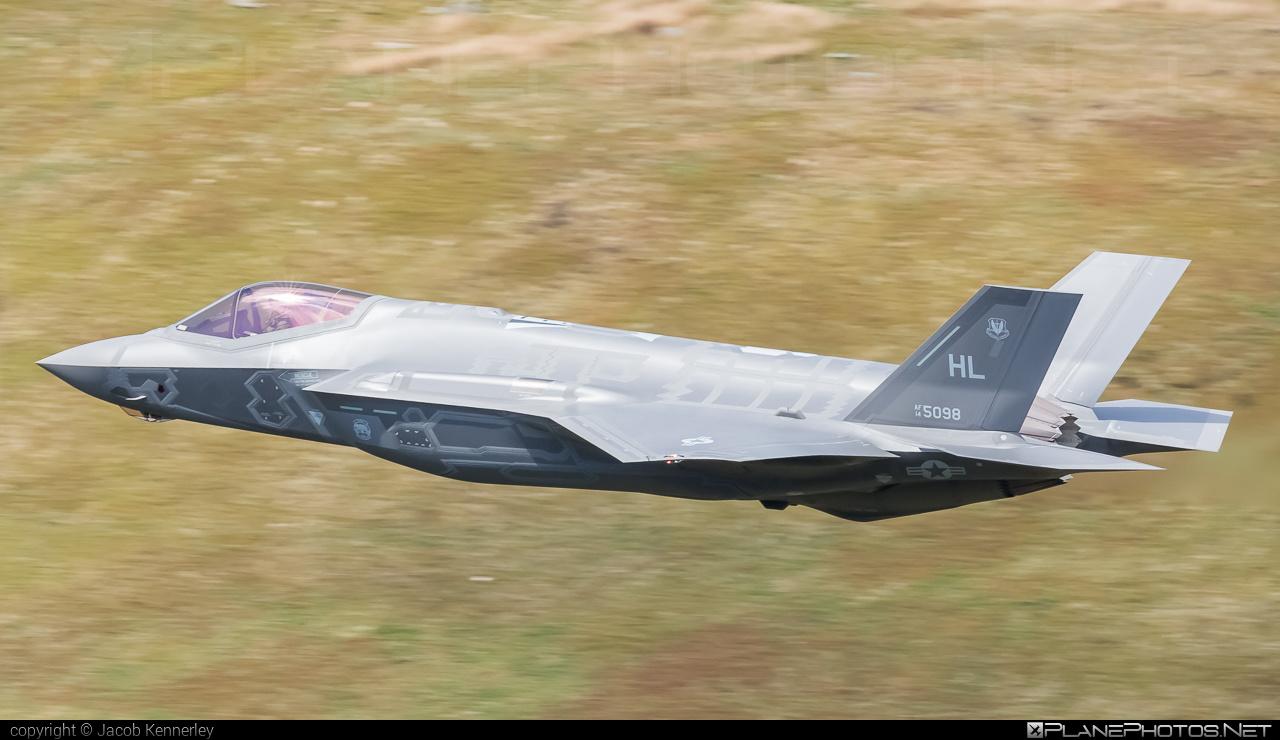Lockheed Martin F-35A Lightning II - 14-5098 operated by US Air Force (USAF) #LockheedMartin #machloop #usaf #usairforce