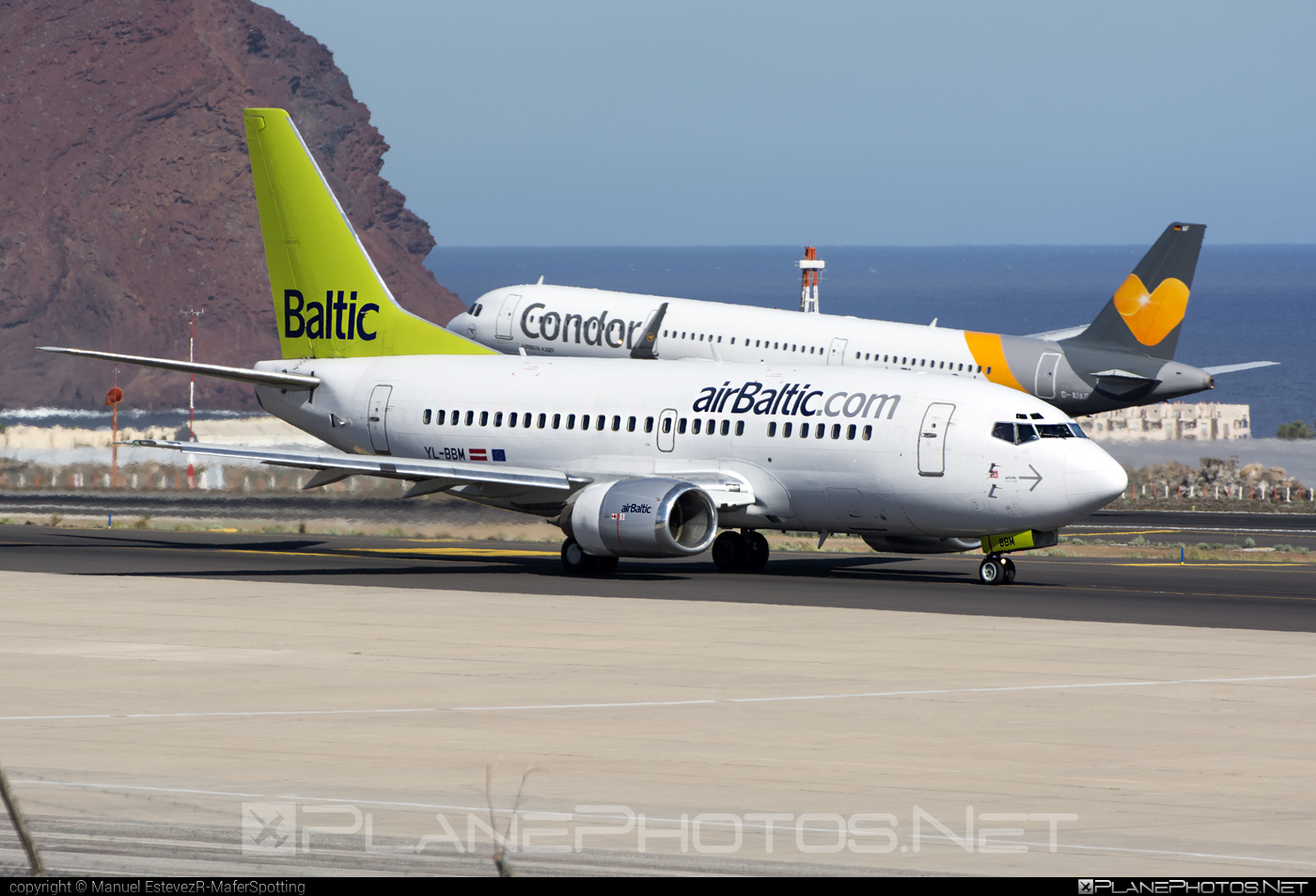 Boeing 737-500 - YL-BBM operated by Air Baltic #airbaltic #b737 #boeing #boeing737