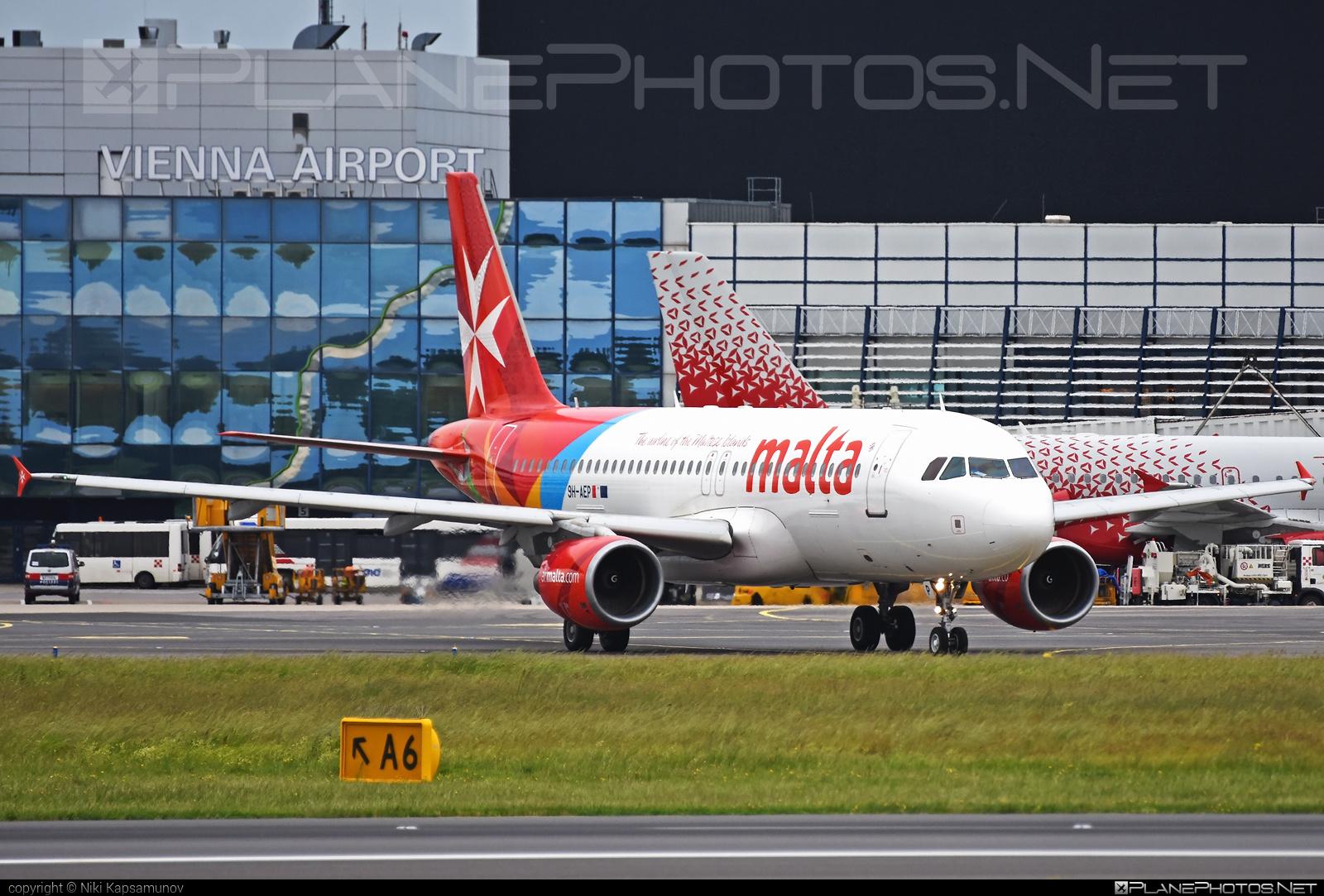Airbus A320-214 - 9H-AEP operated by Air Malta #a320 #a320family #airbus #airbus320 #airmalta