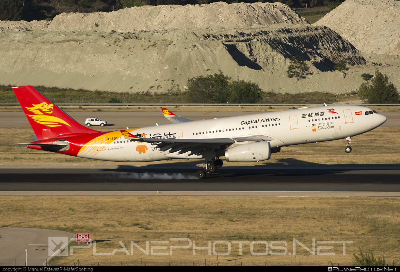Airbus A330-243 - B-8550 operated by Capital Airlines #a330 #a330family #airbus #airbus330