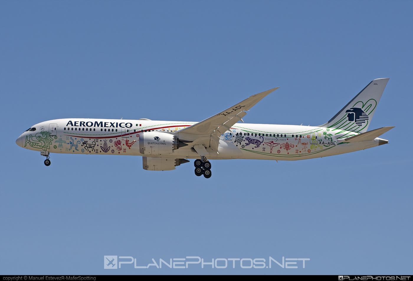 Boeing 787-9 Dreamliner - XA-ADL operated by Aeroméxico #b787 #boeing #boeing787 #dreamliner
