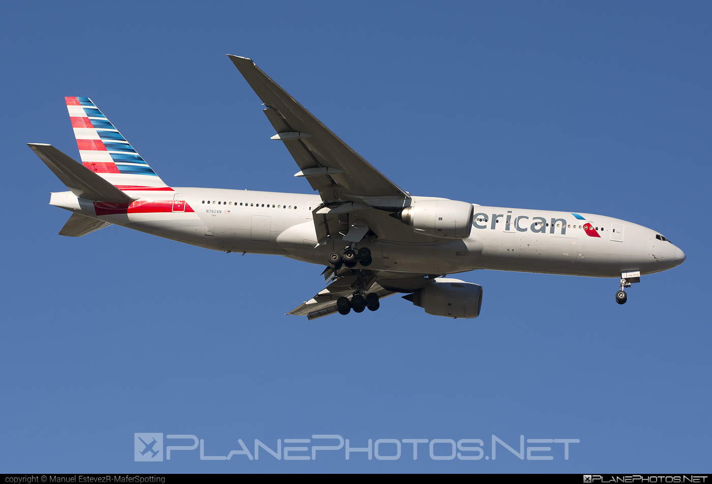American Airlines Boeing 777-200ER - N782AN #americanairlines #b777 #b777er #boeing #boeing777 #tripleseven