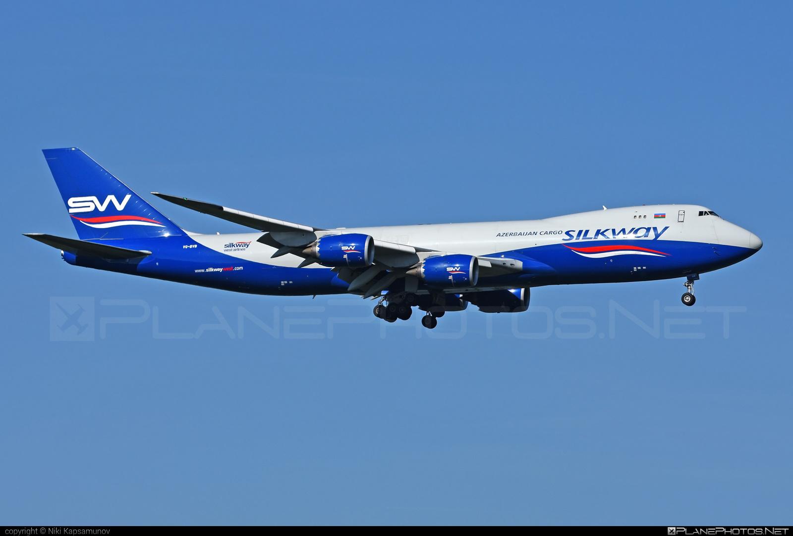 Boeing 747-8F - VQ-BVB operated by Silk Way West Airlines #b747 #b747f #b747freighter #boeing #boeing747 #jumbo #silkwayairlines #silkwaywestairlines