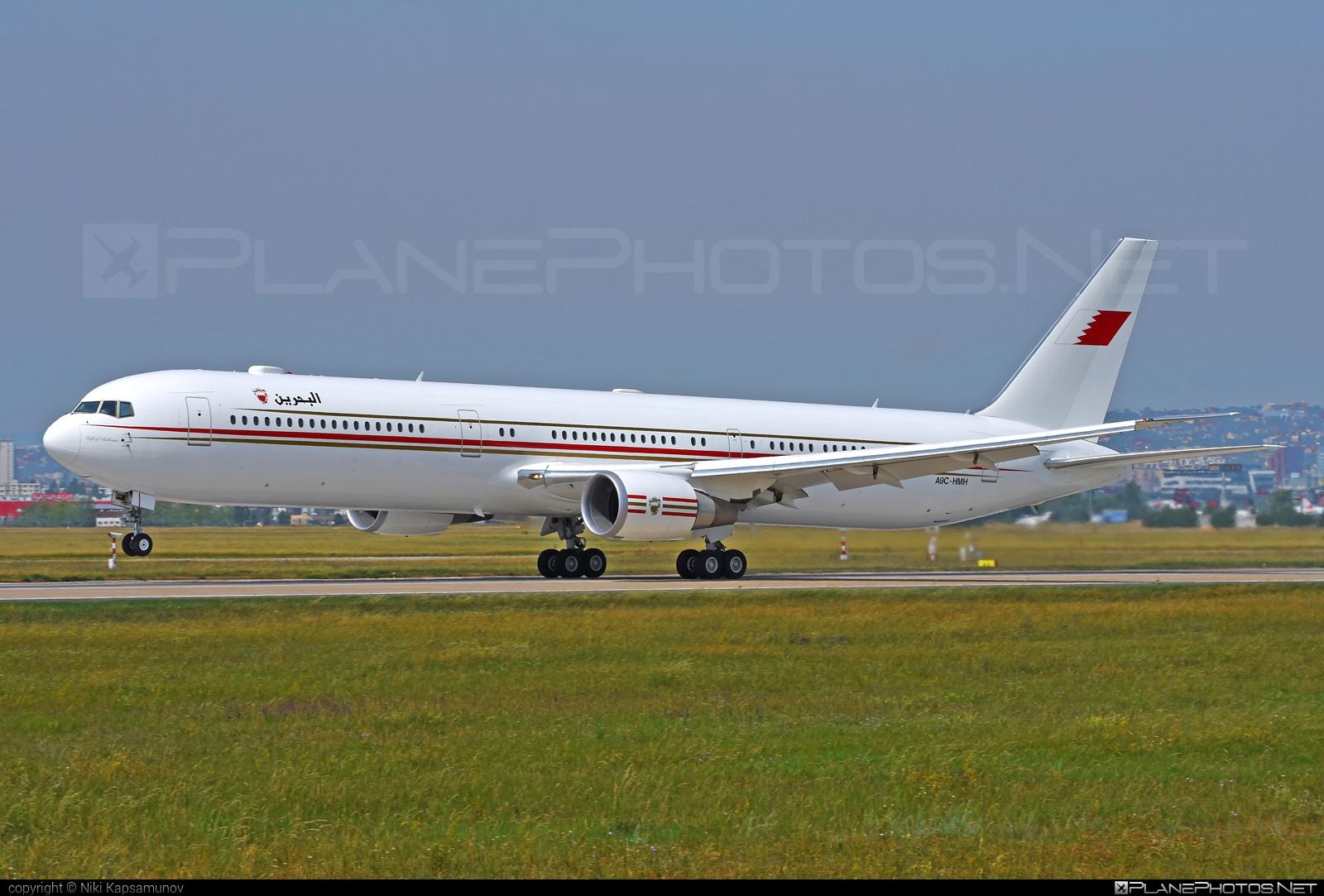 Bahrain - Royal Flight Boeing 767-400ER - A9C-HMH #b767 #b767er #boeing #boeing767