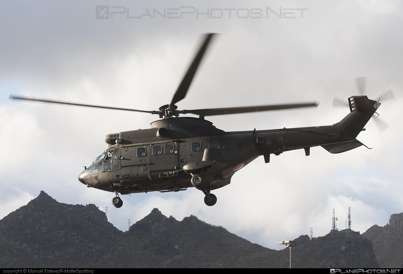 Aerospatiale AS332 B1 Super Puma - HU.21-05 operated by Ejército de Tierra (Spanish Army) #aerospatiale #as332 #as332b1 #superpuma