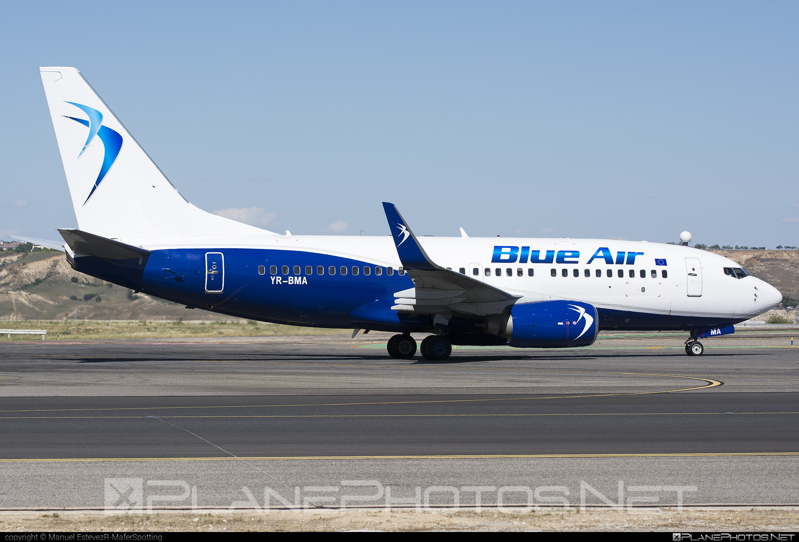 Boeing 737-700 - YR-BMA operated by Blue Air #b737 #b737nextgen #b737ng #boeing #boeing737